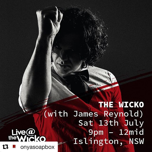 Repost @onyasoapbox with @get_repost ・・・ Newcastle - Marz (@marz_music1) are coming to @thewicko this Sat 13th July for their last show of the tour to deliver their sweet brand of punchy glam rock!  They bring sass to the stage instantaneously. The four-piece's brand of pop-pub-rock lands somewhere between the alternative rock of Placebo, the balladry of The Whitlams and a hint of grunge not too dissimilar to Bush.  Supported by James Reynold.  Get along Newie!! . . .  #thewicko #newcastlemusic #newcastle #newcastlensw #newcastlenightlife #newy #newcastlelive #newcastlegigs #supportlocalmusic #supportlivemusic #liveforlivemusic  #alternativerock #indiemusic #independentartist #musiciansofinstagram #musicartist #musiclover #newmusic #newsingle #lovemusic #australianmusic #ausmusic #aussierock #aussiemusic #marzguitar #concertlife #musicianlife #australianmusicscene #livegig #livemusicrocks