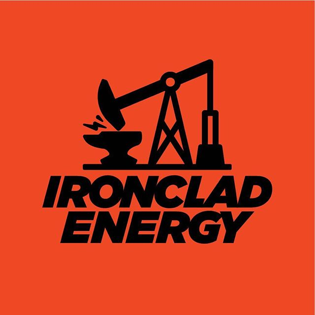 Unused logo concept for Ironclad Energy, designed during my time at DBD.