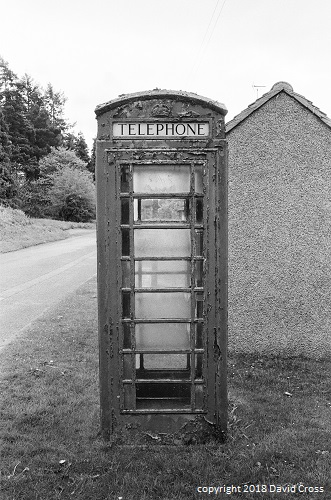 Phone Box. Clements End.