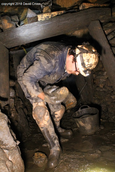 The Coal Mine is a hard place to work especially for the tall, like Edward.