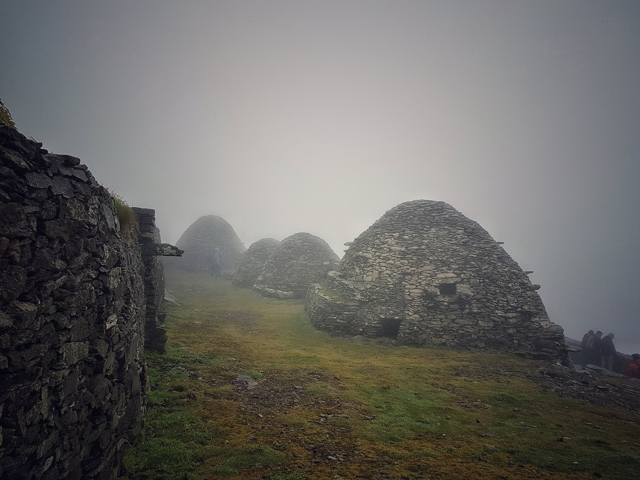 Beehive Huts on Skellig Michael
