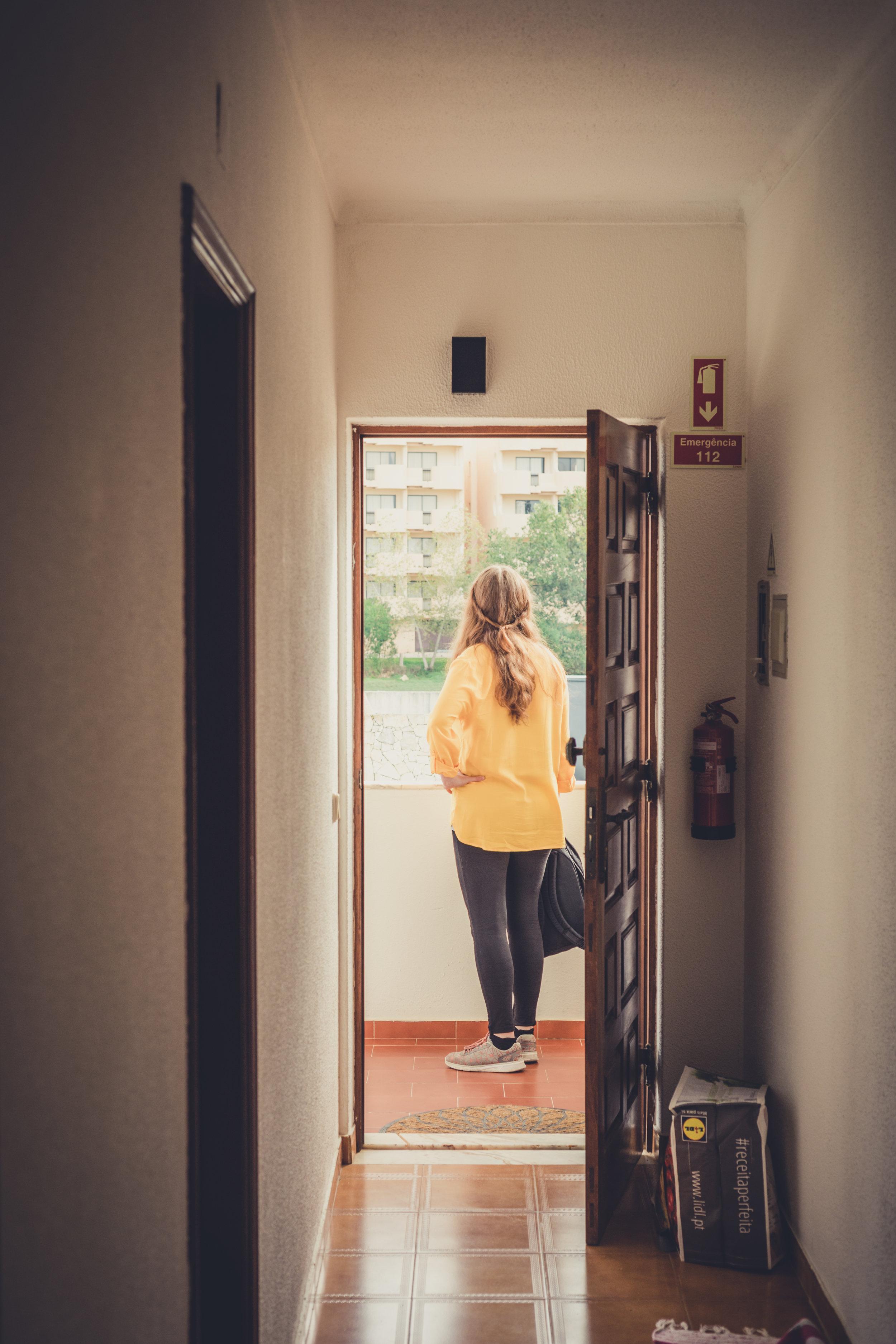 Leaving the flat.JPG