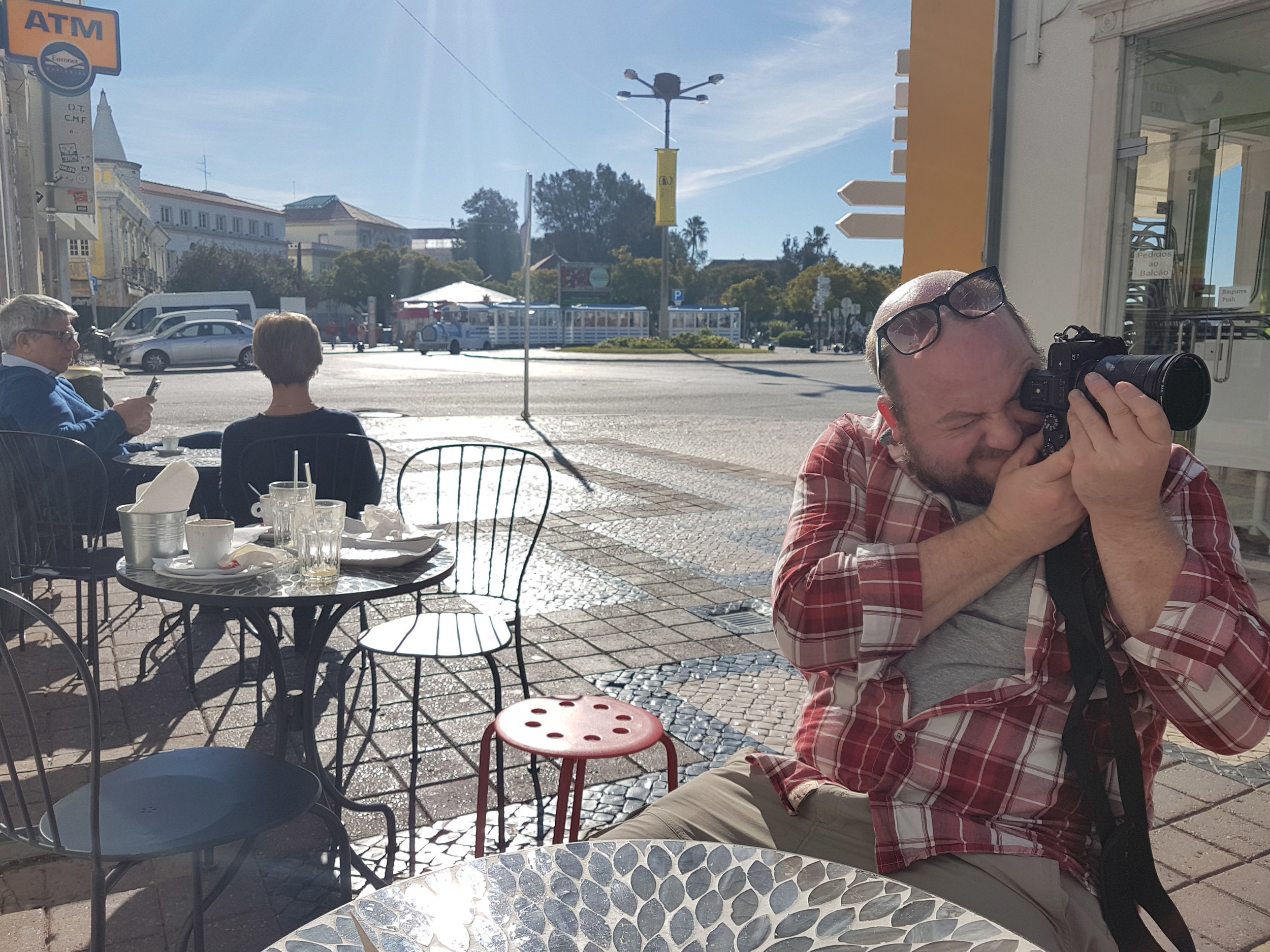 Taking pictures of the street. Faro. Algarve..jpg