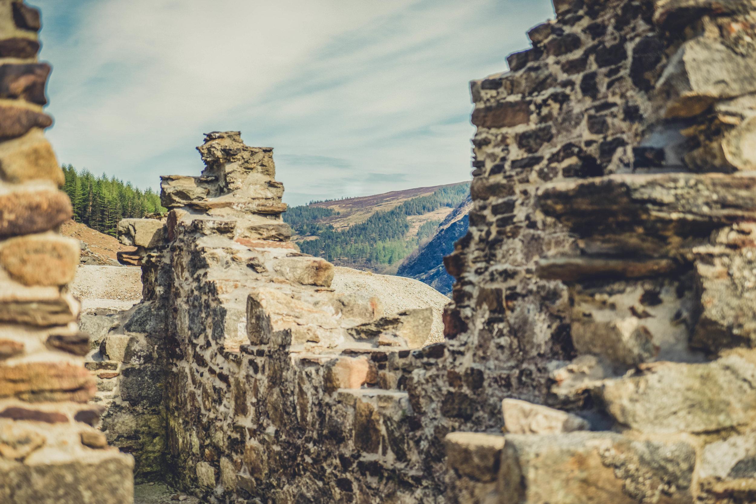 glendalough. irish history. county wicklow. round tower. hill walknig. hiking. grave yard. wildlife. tombstones. lakes. blue sky. mining town.jpg