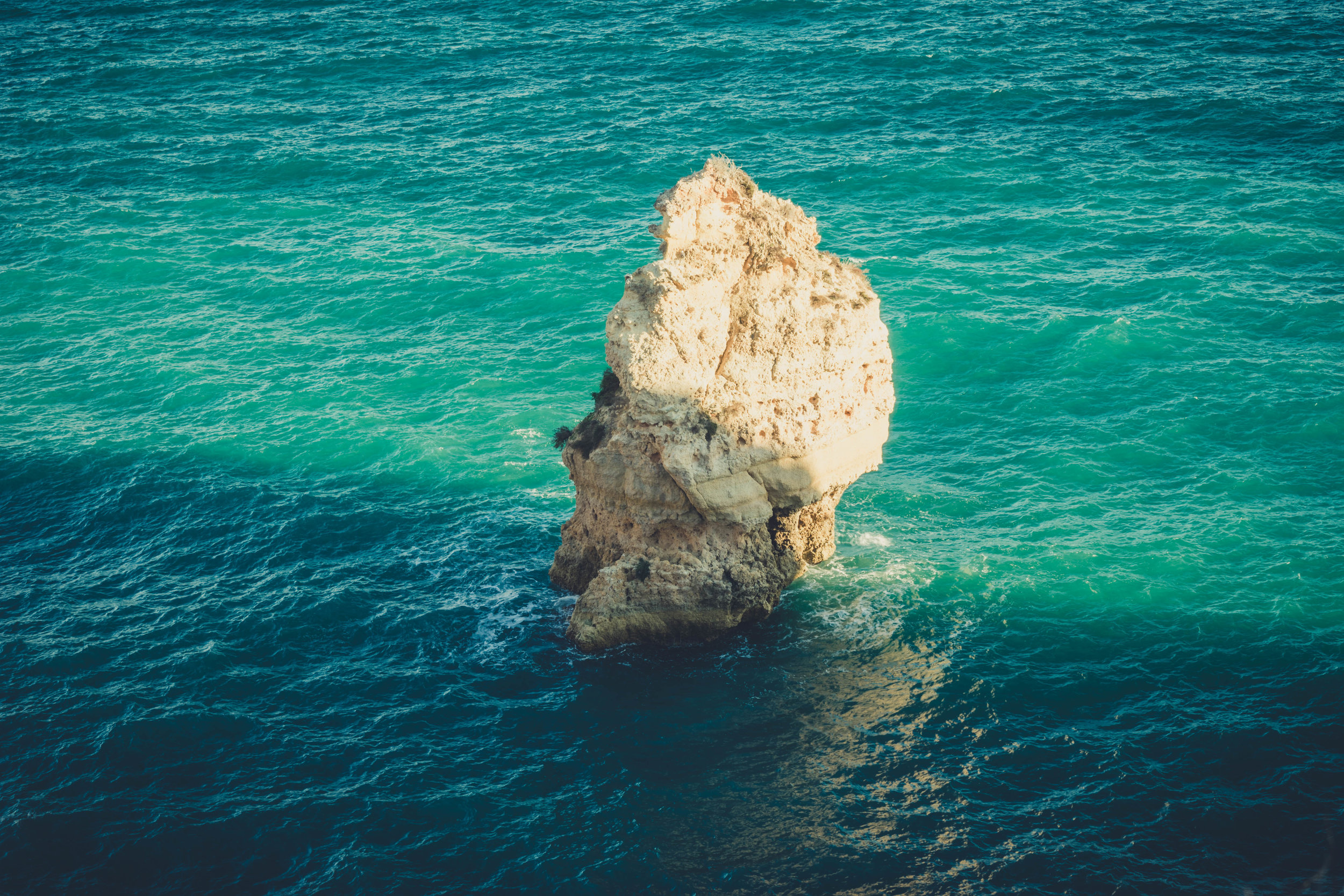 Marinha Beach. Seven Hanging Valleys Walk. portugal. algarve. beach. cliffs. tavel. caves. lonely rock in the sea.jpg