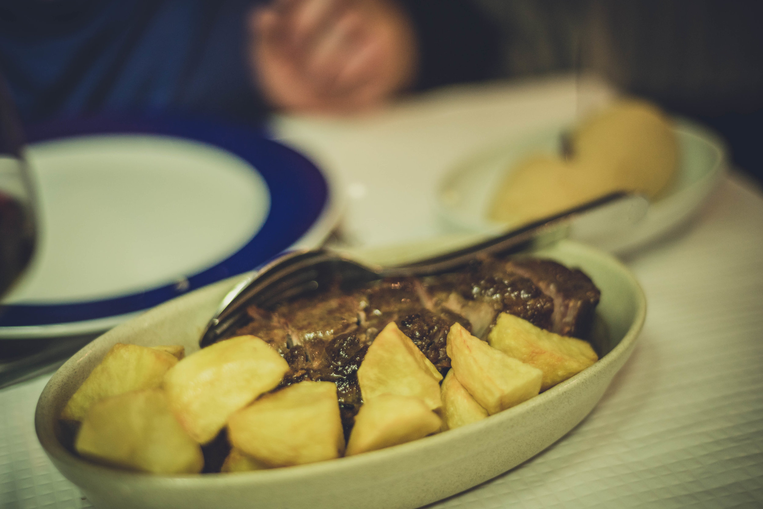 Taberna Típica Quarta Feira. food. great.Evora. Roman Ruins. Portugal. Alentejo. Piliers. Roman city. ancient roman town. travel. adventure. history. historical. wine. beef fun time.jpg