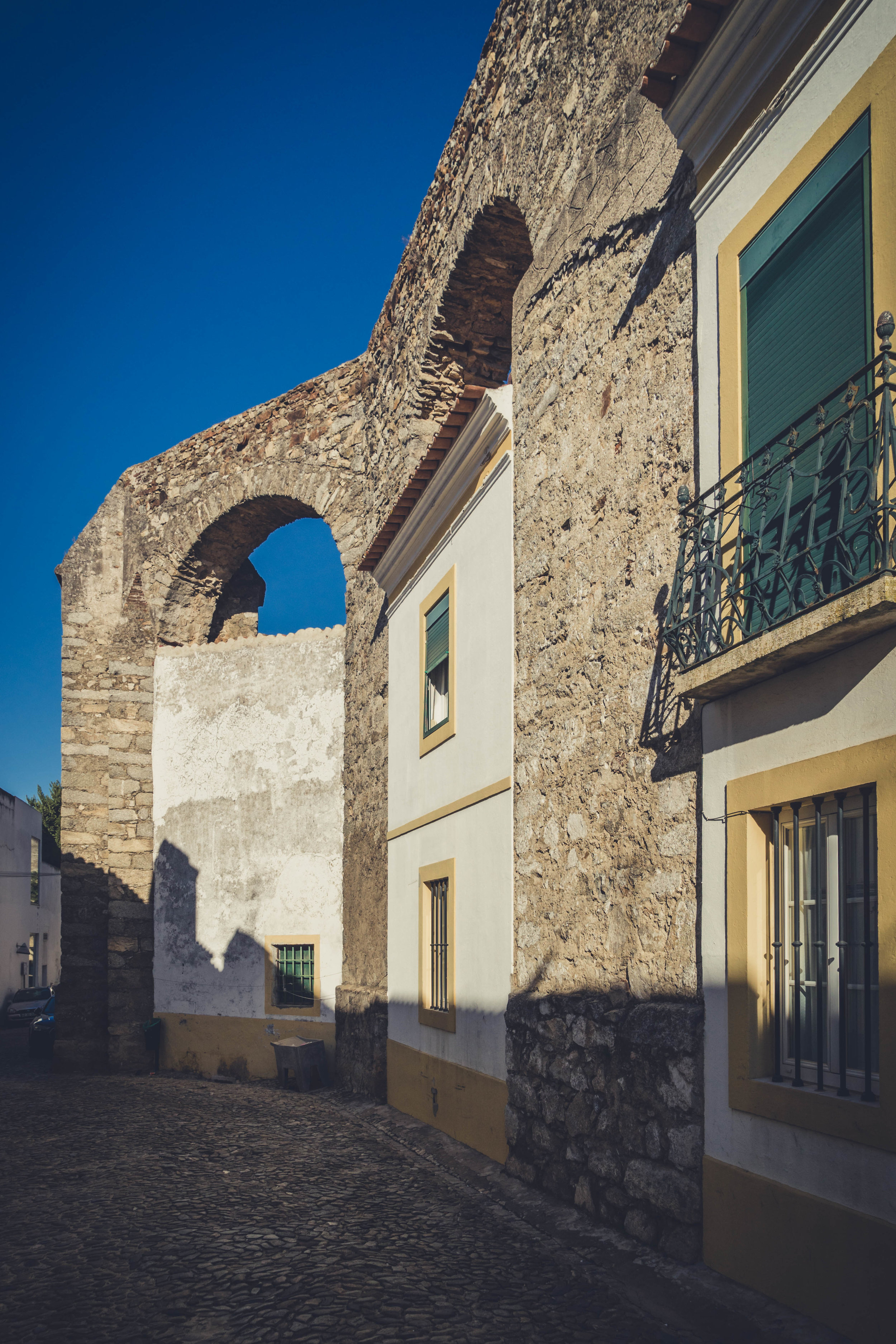 Evora. Roman Ruins. Portugal. Alentejo. Piliers. Roman city. ancient roman town. walking through street travel. adventure. history. historical. architecture. aqueduct.....jpg