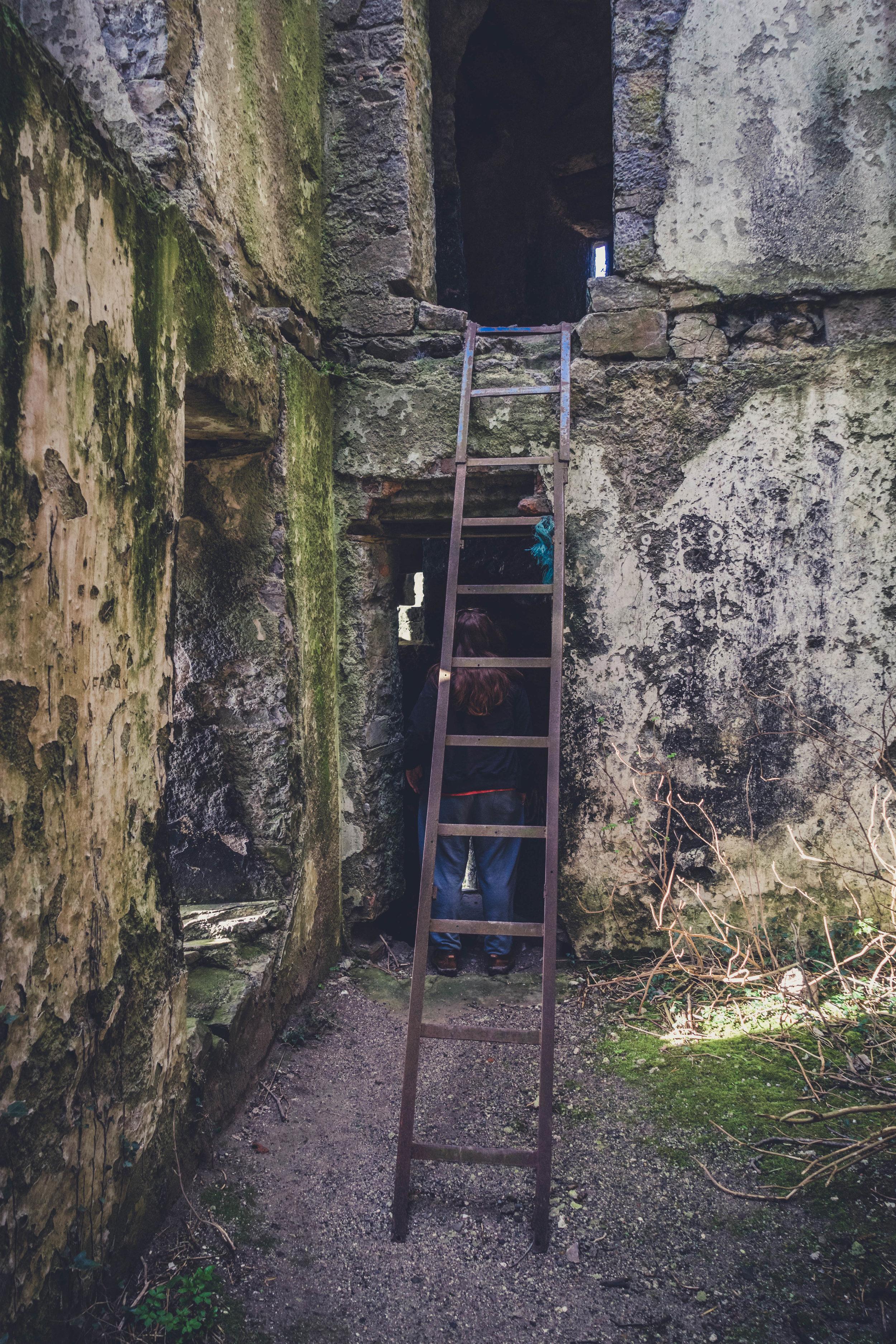 Ireland. Castle. Old castle. irish history. history. Rock of Dunamase. blue sky. rock. pathway. adventure. travel. irish counrty. Ballyadams castle..jpg