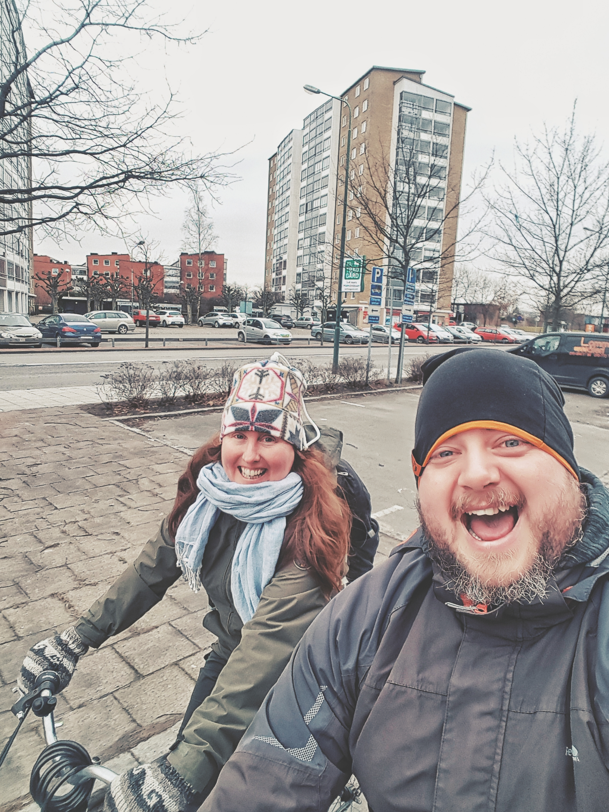 Getting around Malmo by bike