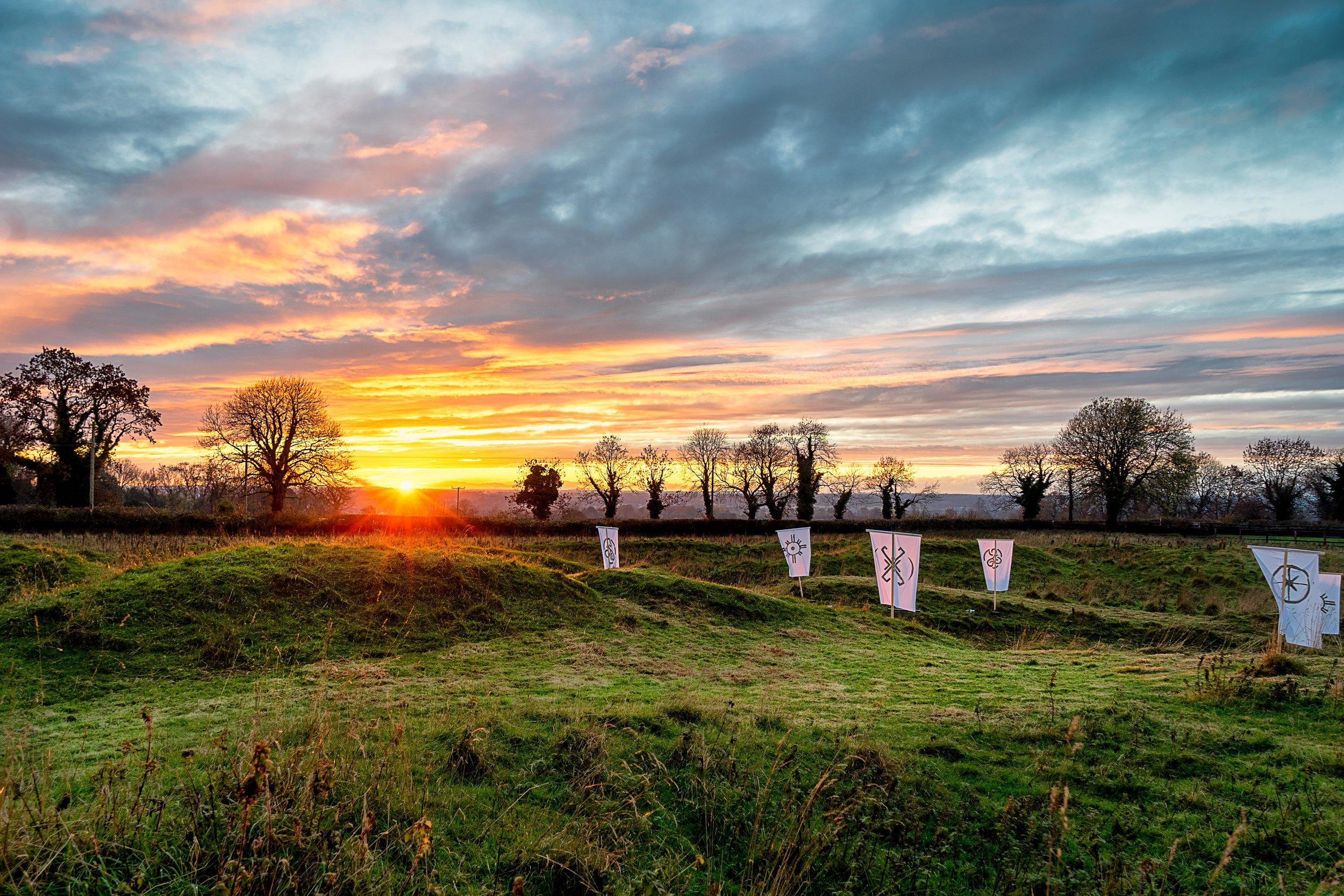 Tlachtga. hill of ward. ireland. irish. history. halloween. druid. epic sunset..jpg
