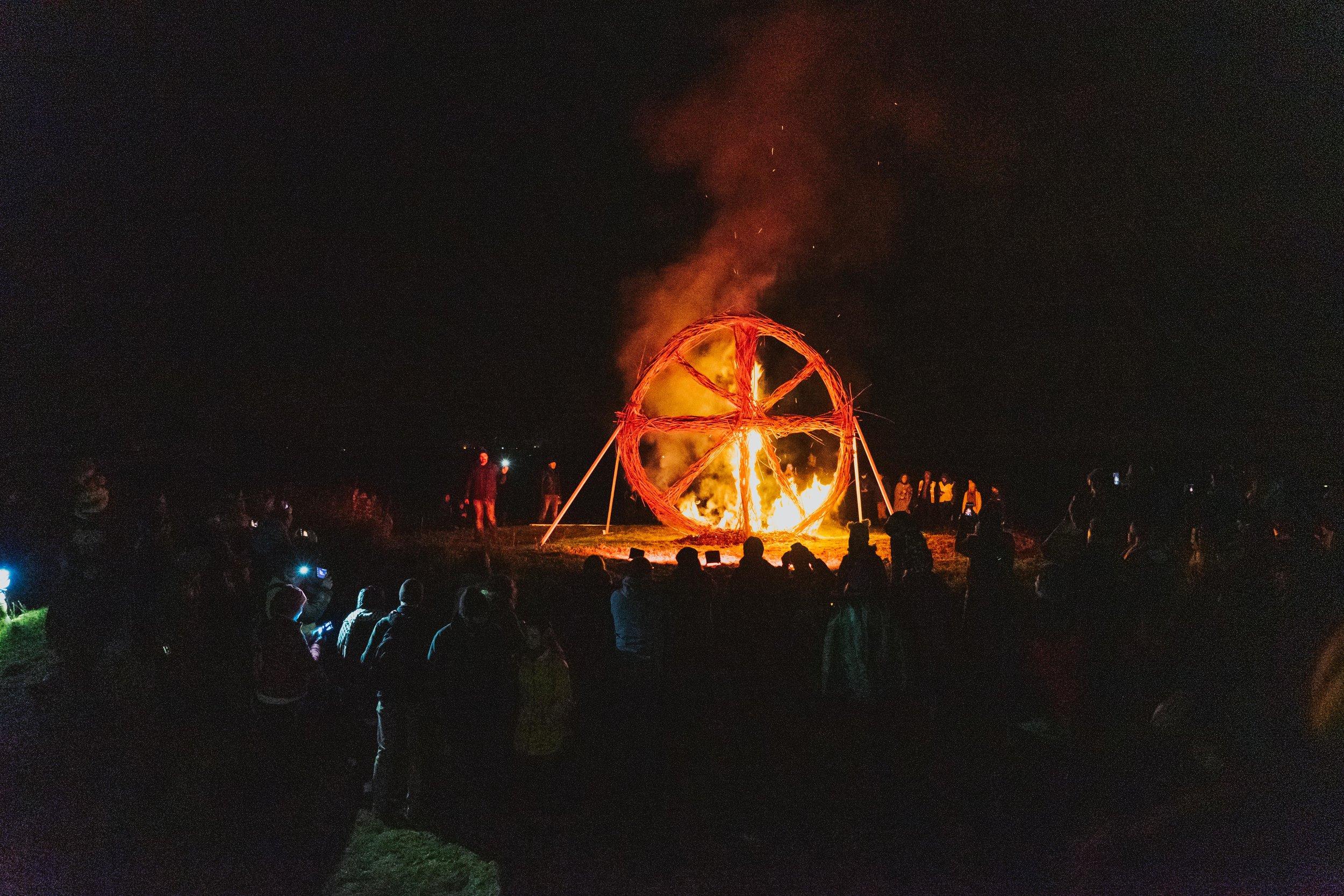 Tlachtga. hill of ward. ireland. irish. history. halloween. druid. ablaze.jpg