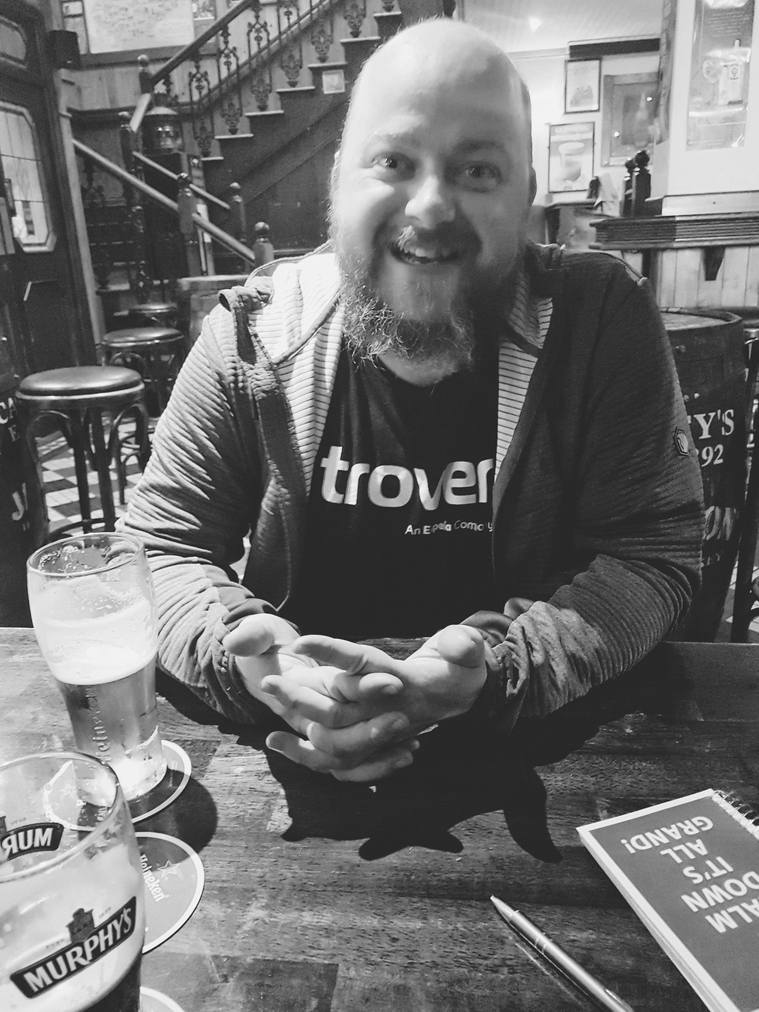 county cork. cork. ireland. irish. history. city. house sitting. old. travel. travel photography. travel photographer.  havining fun in the pub. beer. trover.jpg
