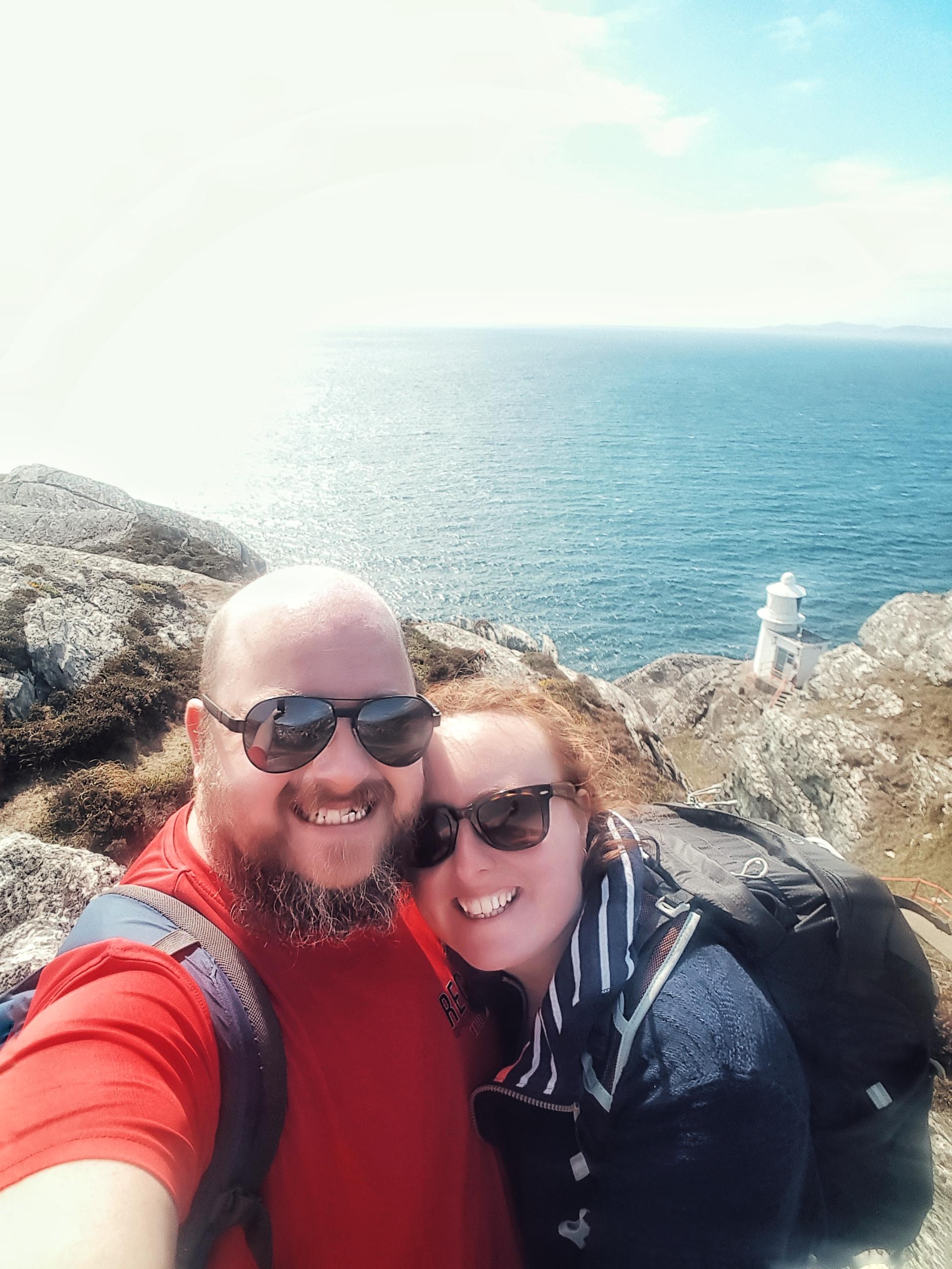 county cork. cork. ireland. irish. history. city. house sitting. old. travel. travel photography. travel photographer.  selfie at the lighthouse. sheeps head lighthouse.jpg