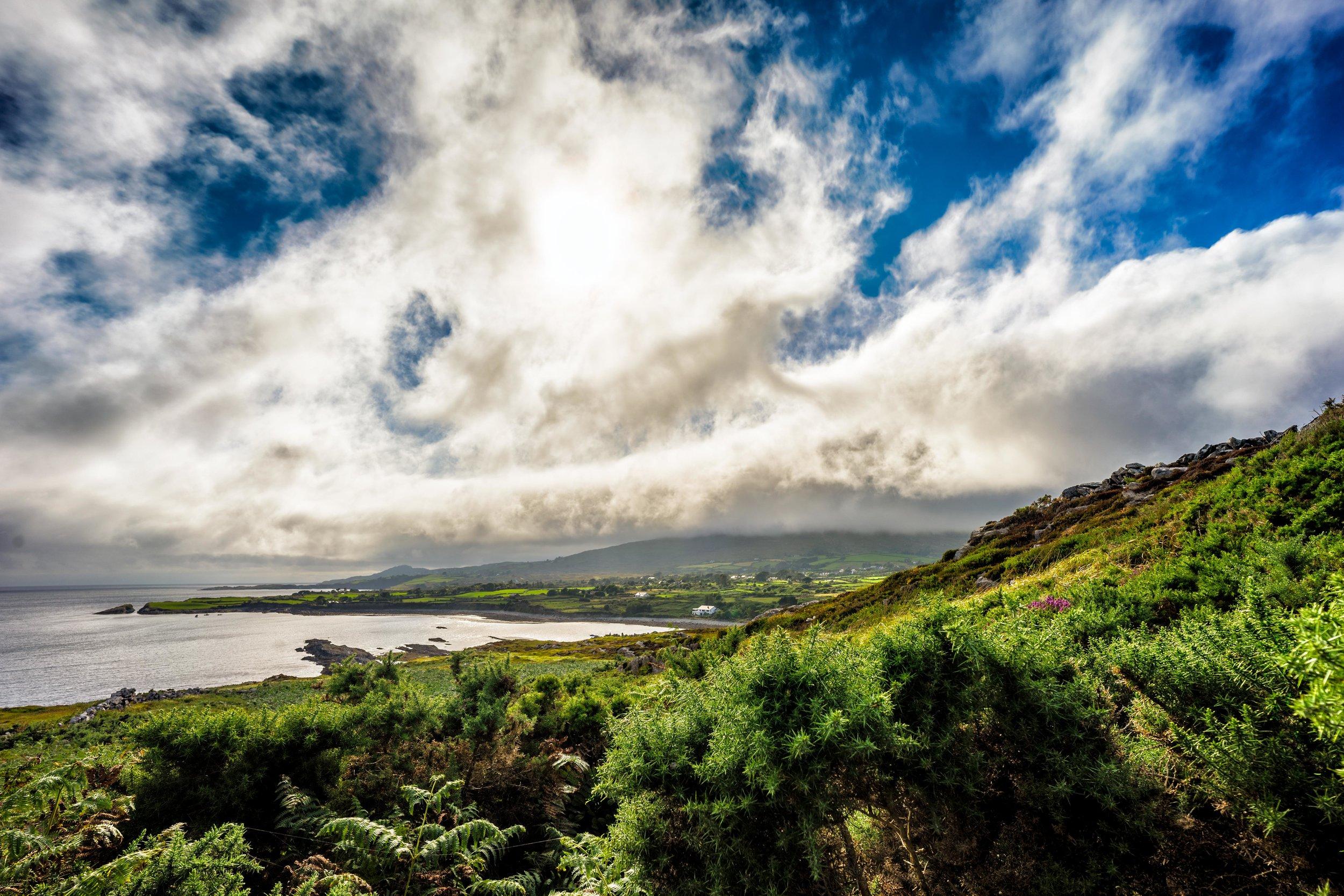 county cork. cork. ireland. irish. history. city. house sitting. old. travel. travel photography. travel photographer. lough hyne. hiking. outdoor. adventure. hiking. camping. bright day..jpg