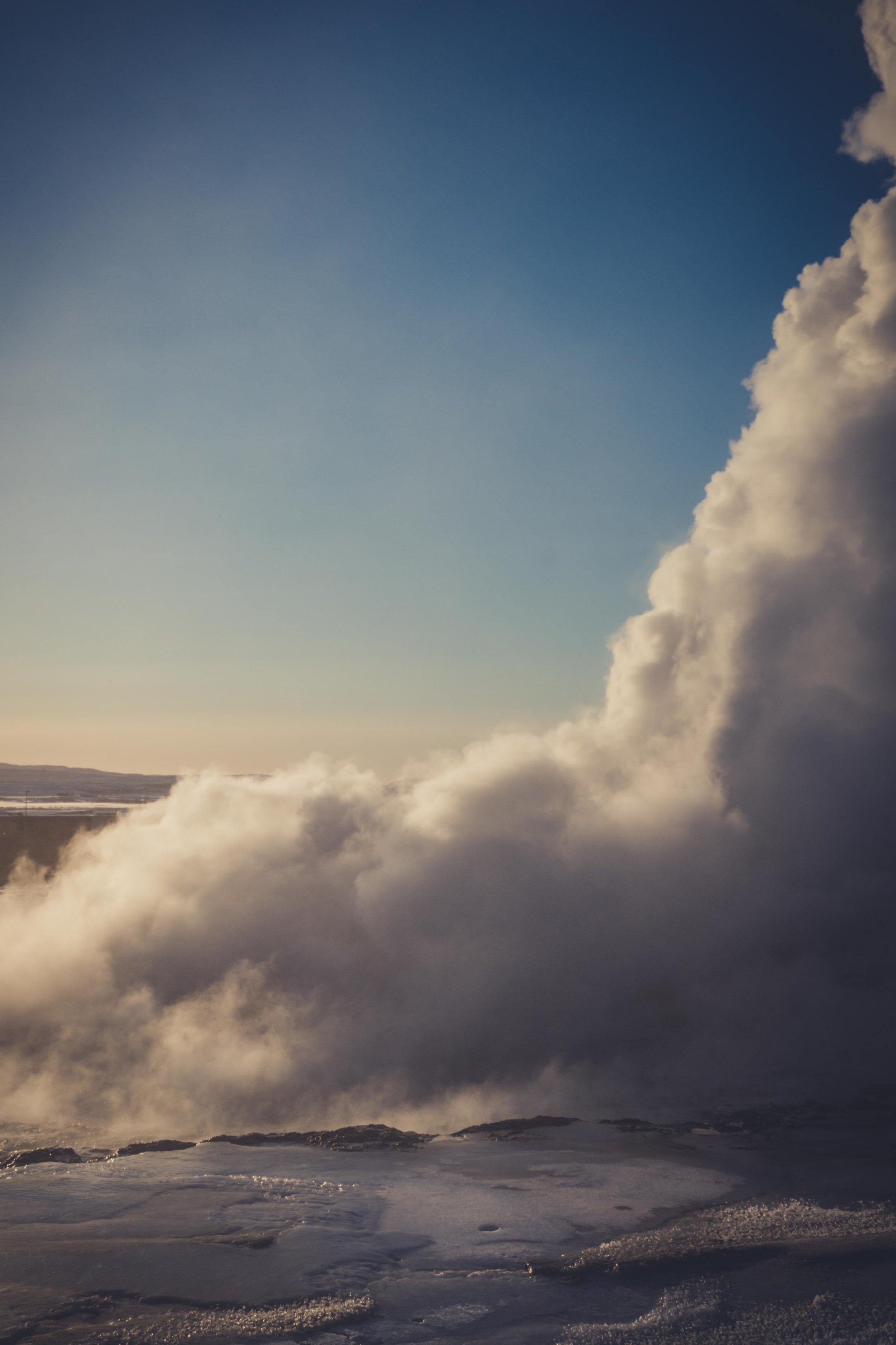 Iceland. snow. travel. adventure. photography. trip. epic landscape. snow. cold. freezing. sunrise. long exposure selfie. blow hole..jpg