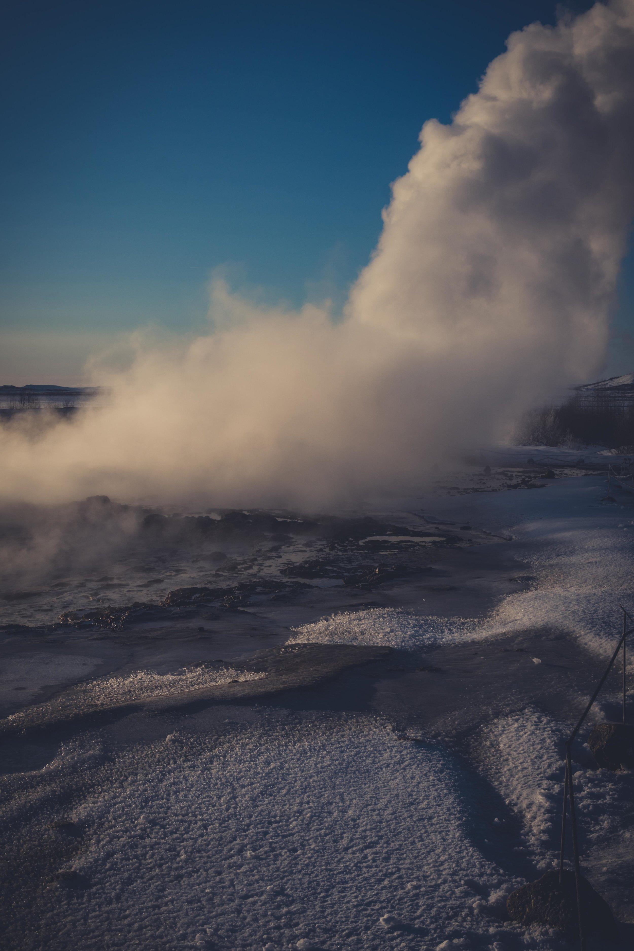 Iceland. snow. travel. adventure. photography. trip. epic landscape. snow. cold. freezing. sunrise. long exposure selfie. blow hole...jpg