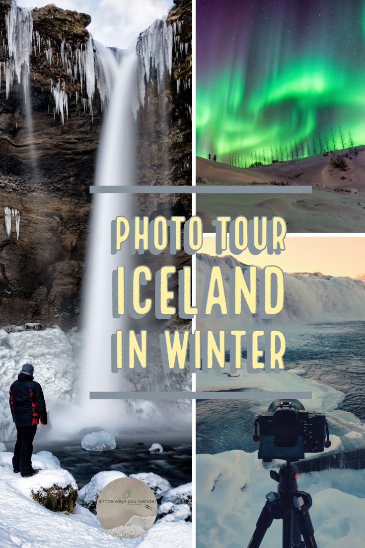 Photo Tour Iceland in Winter #travelphotography #iceland #winter #waterfalls #northernlights.jpg