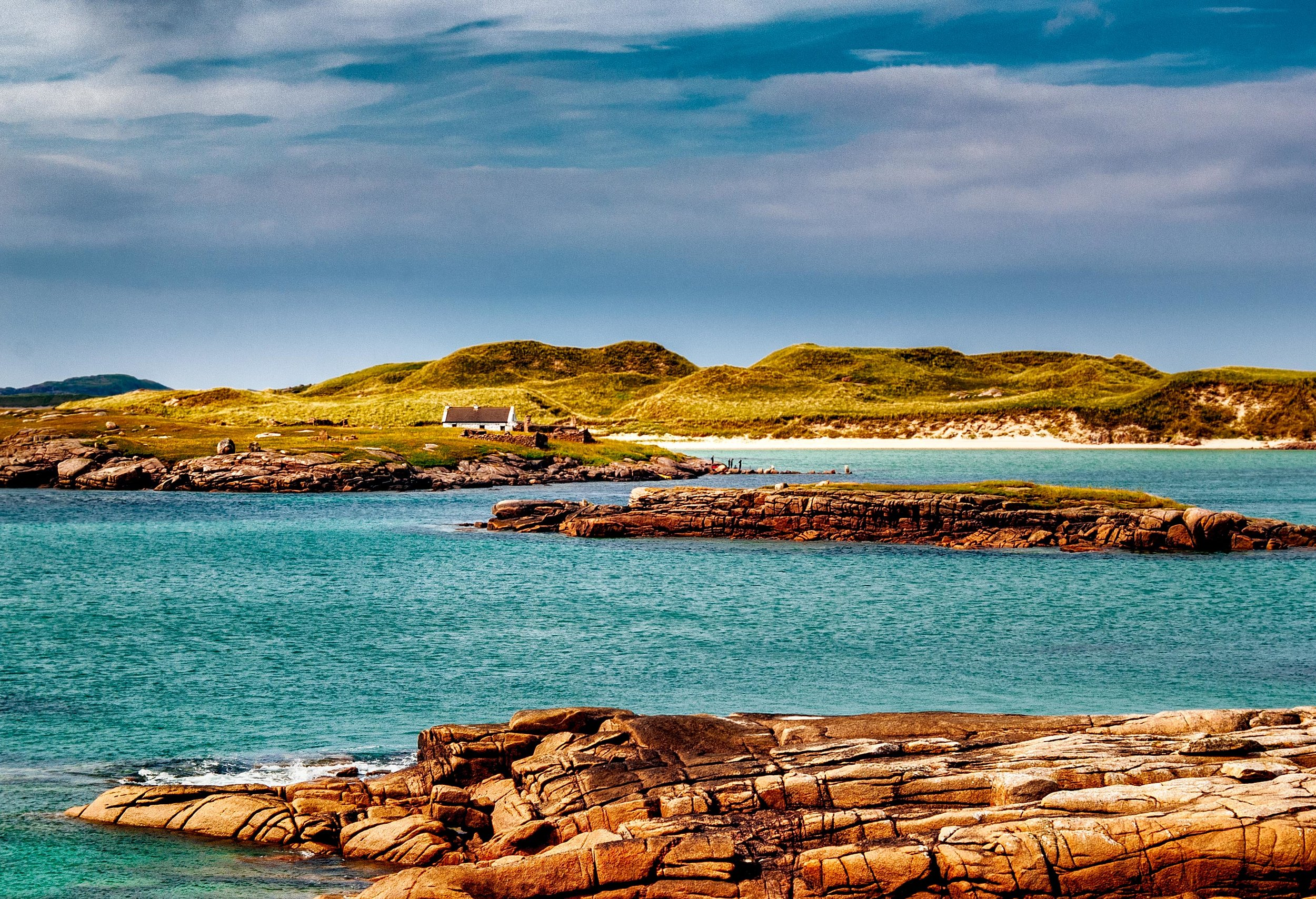 Ireland in the sunshine