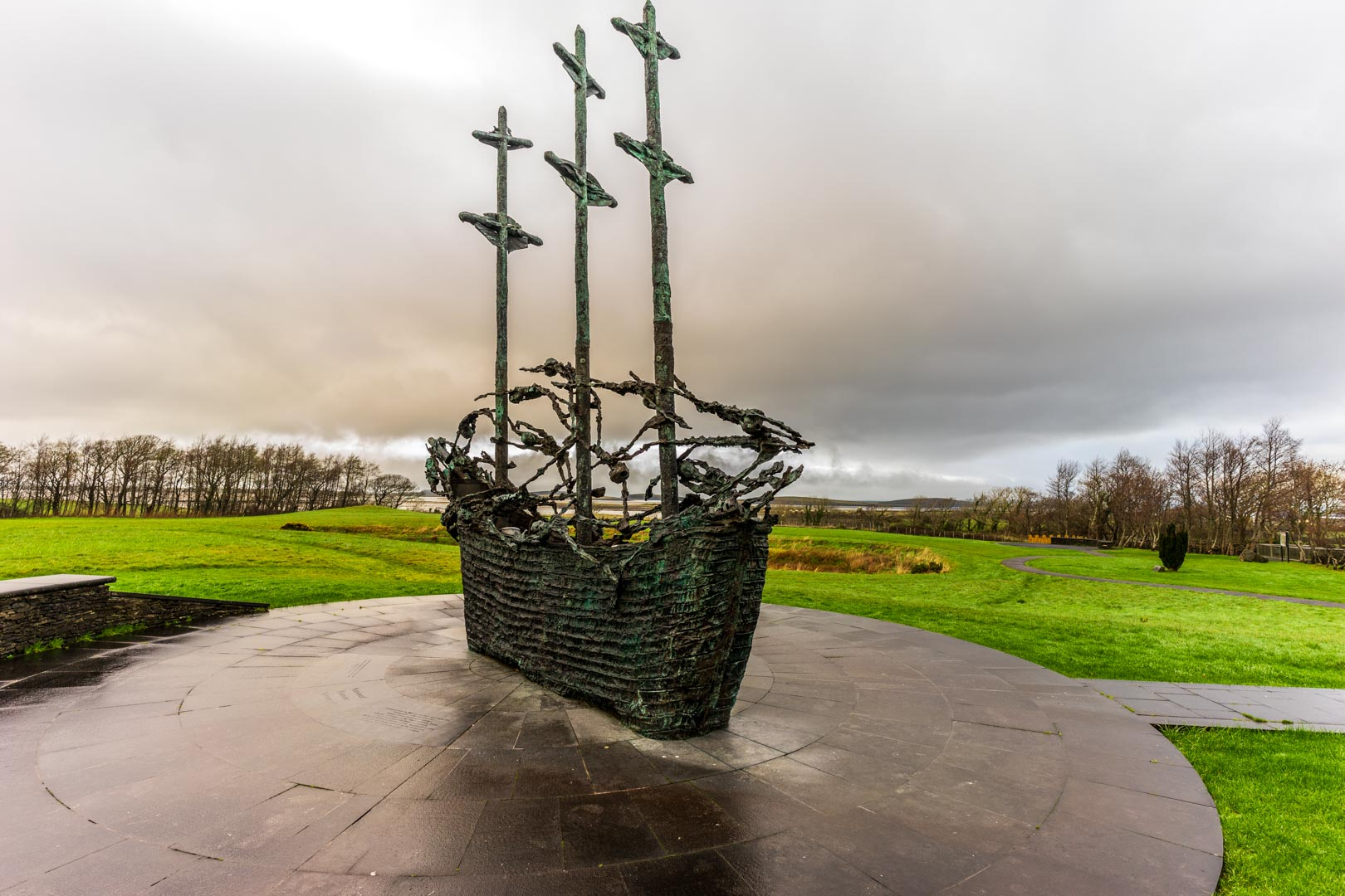 famine ship manorial