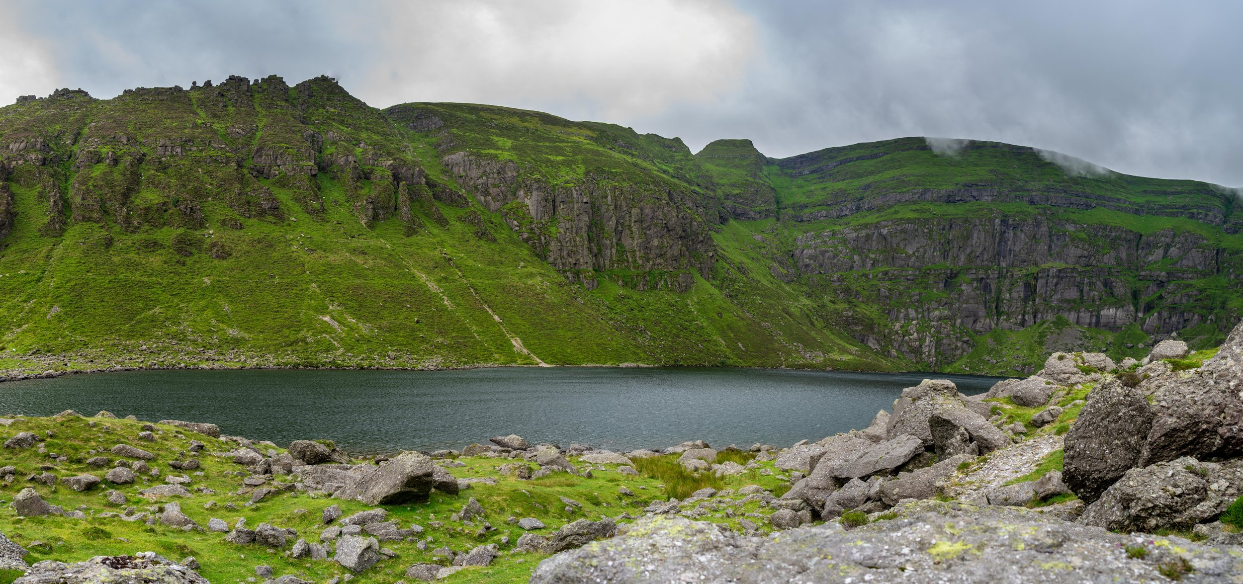 Coumshingaun Lake Panoramic