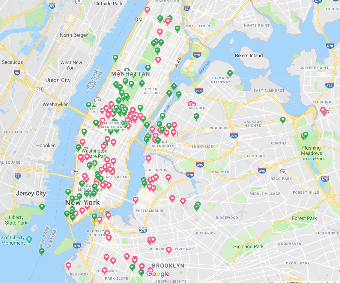 Map Of New York City For Tourists.What Is It Like To Visit New York For The First Time All The Ways