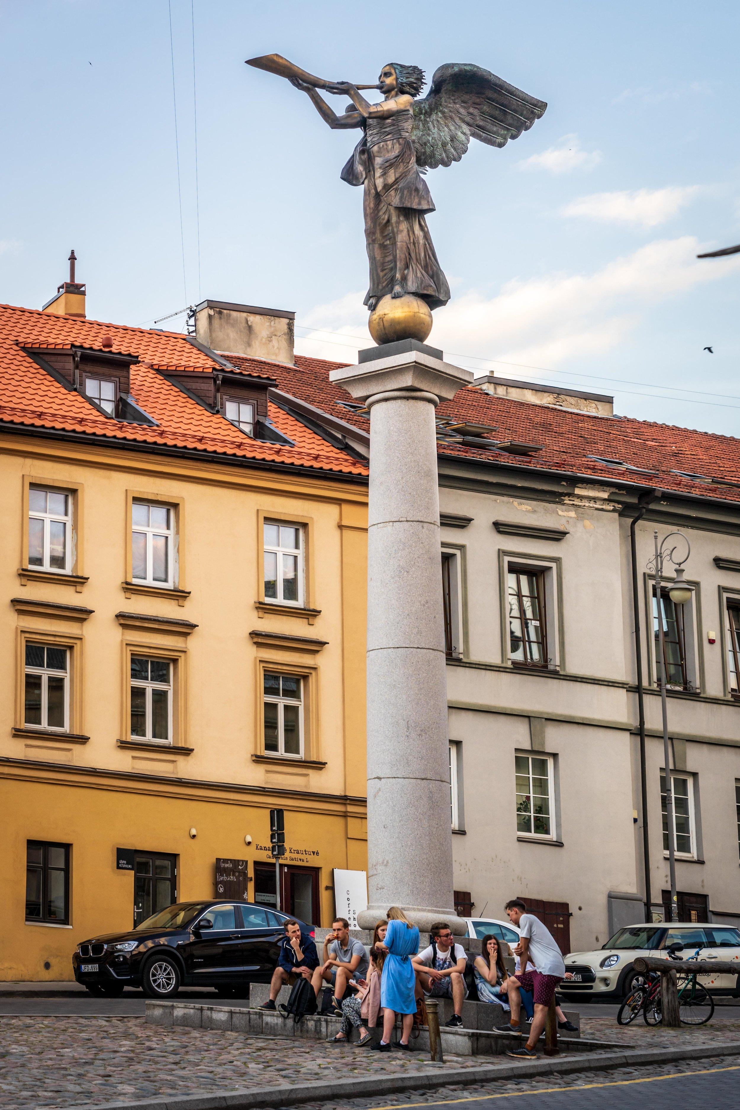 The Republic of Užupis - Vilnius City - Lithuania.jpg