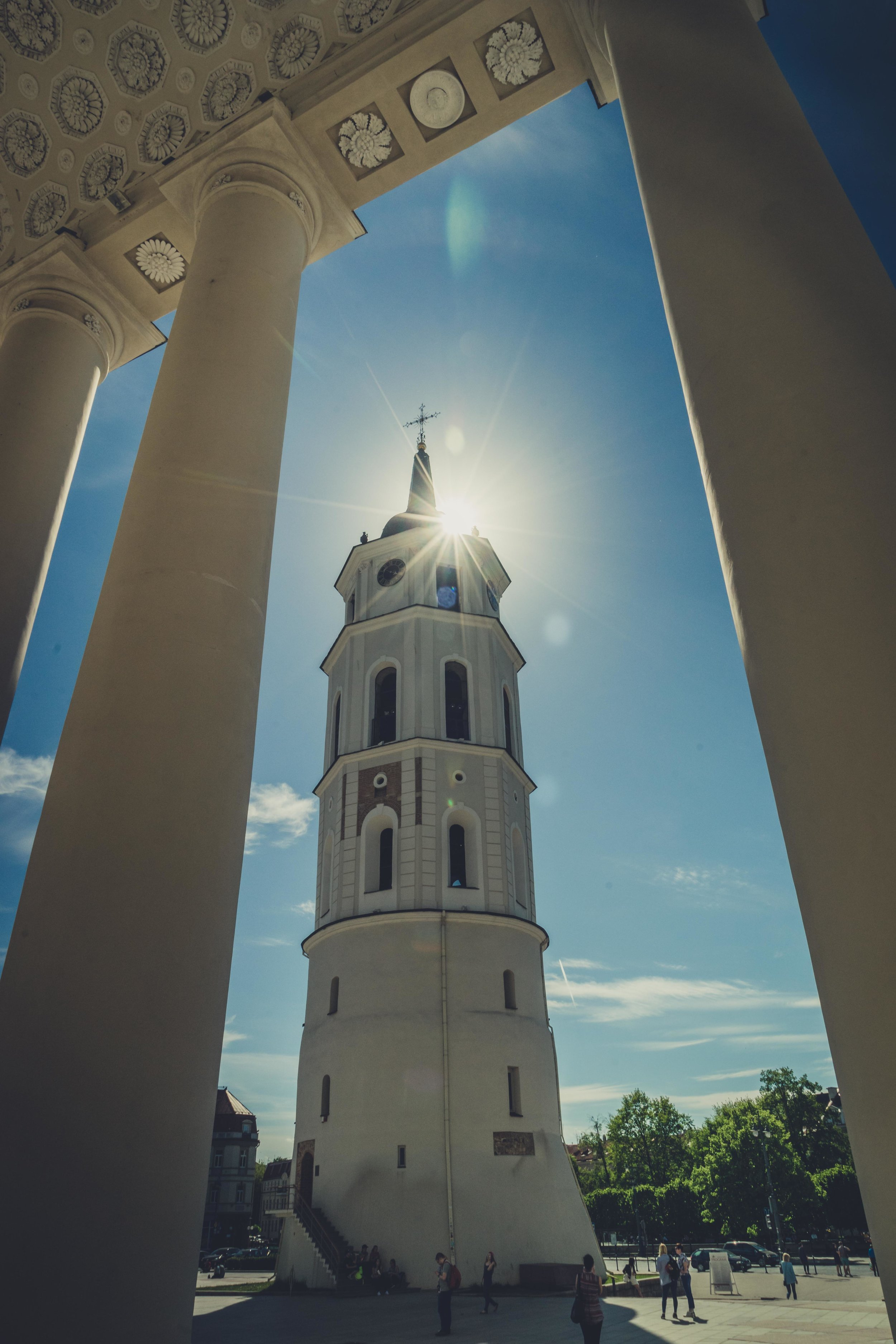 Vilnius Cathedral and bell tower - Vilnius City - Lithuania-4.jpg