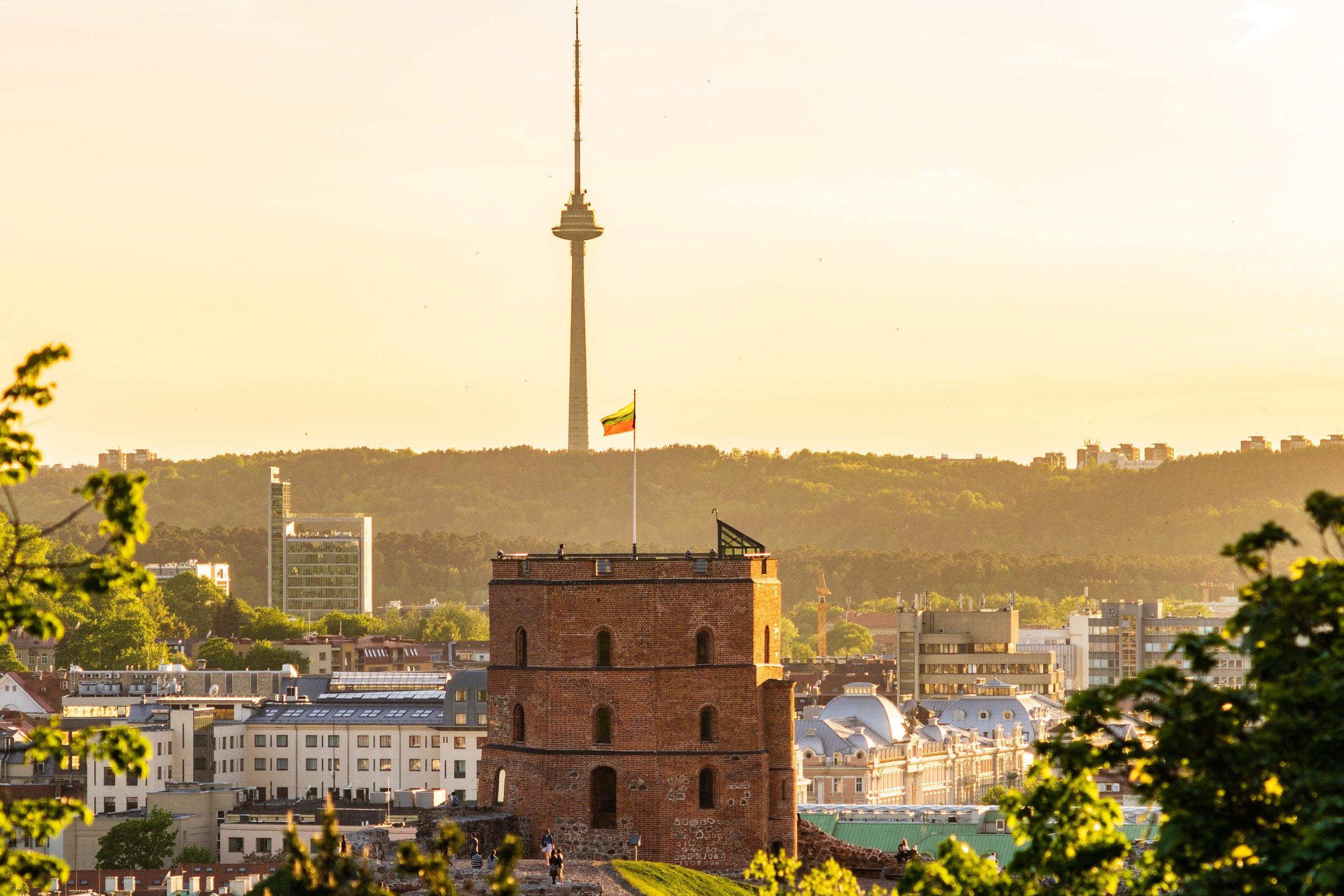 Gediminas' Tower Vilnius, Lithuania, Eastern Europe-2.jpg