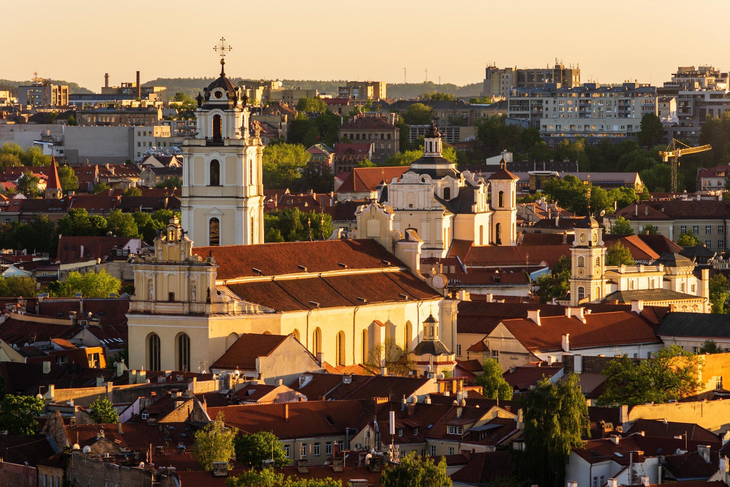 Gediminas' Tower Vilnius, Lithuania, Eastern Europe.jpg
