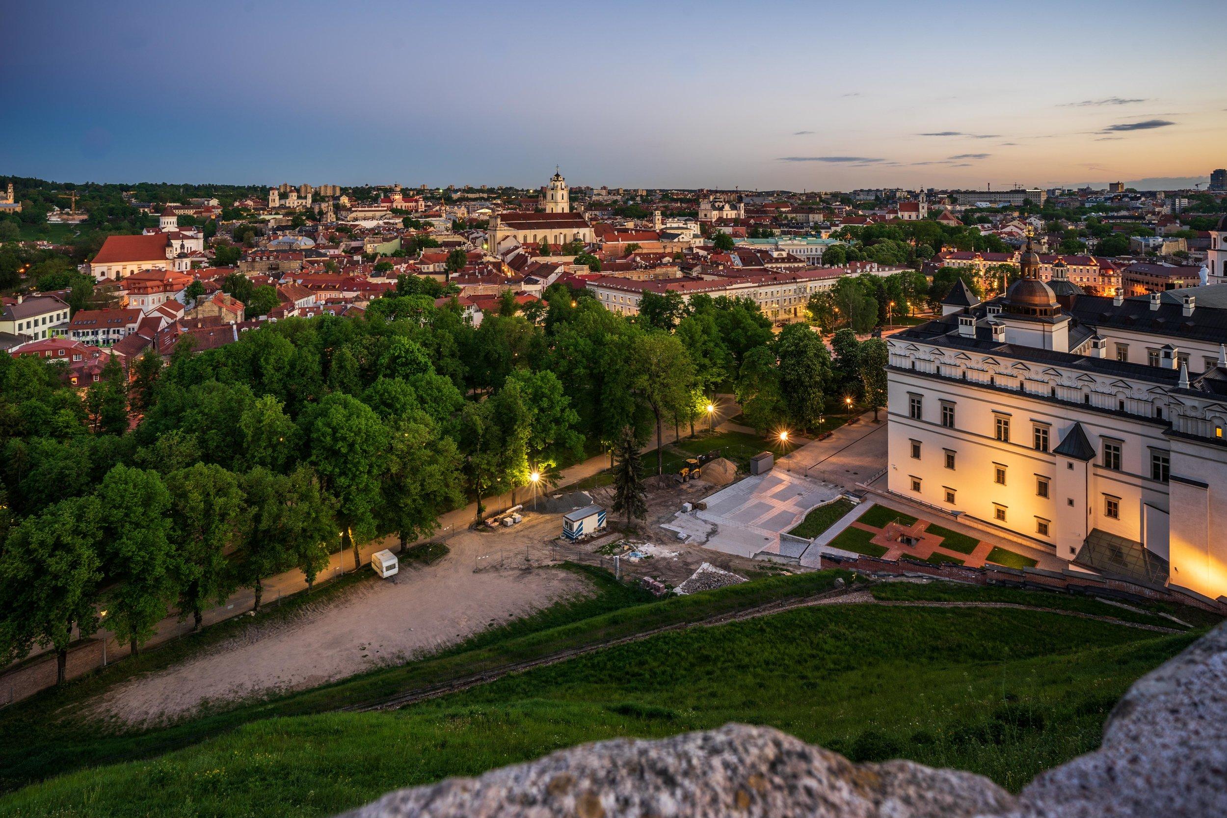 Gediminas' Tower Vilnius, Lithuania, Eastern Europe-4.jpg
