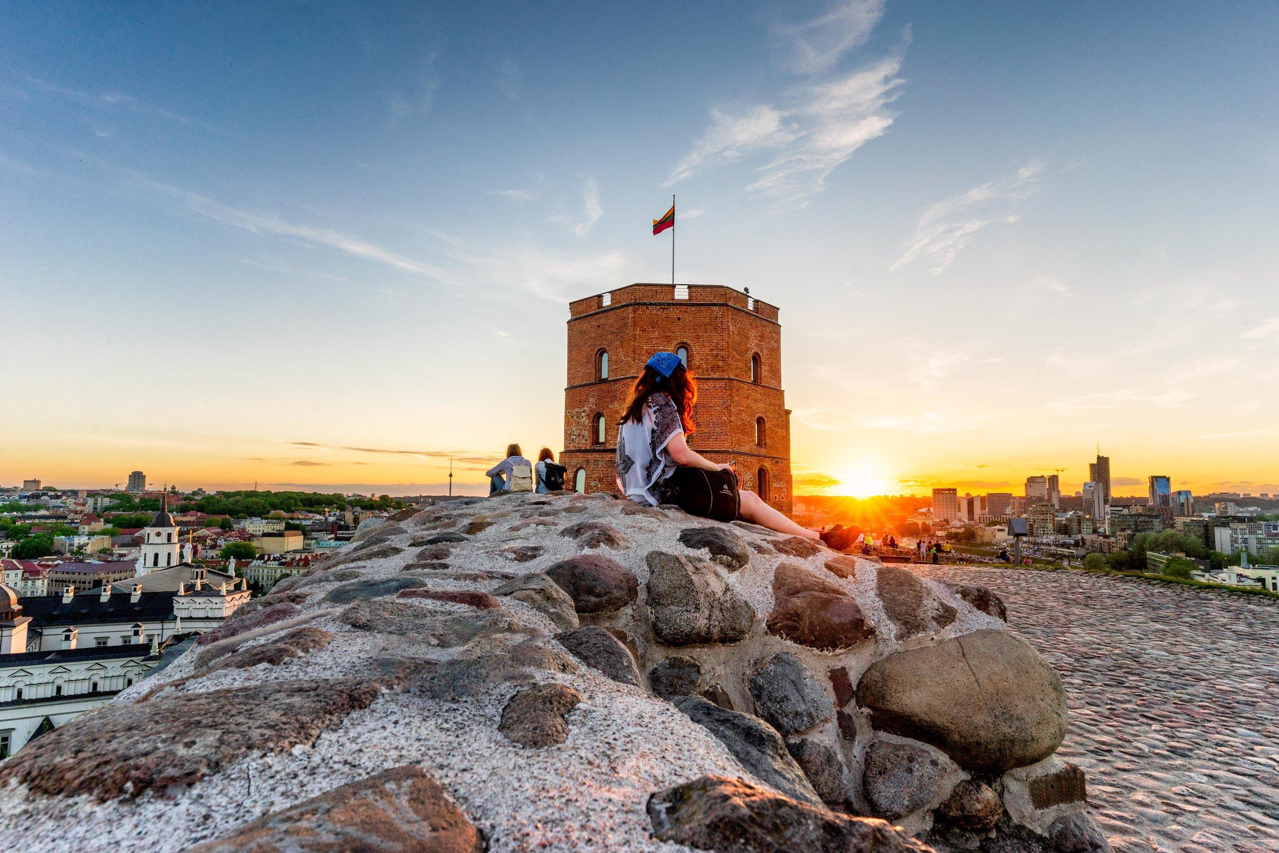 Gediminas' Tower Vilnius, Lithuania, Eastern Europe-3.jpg