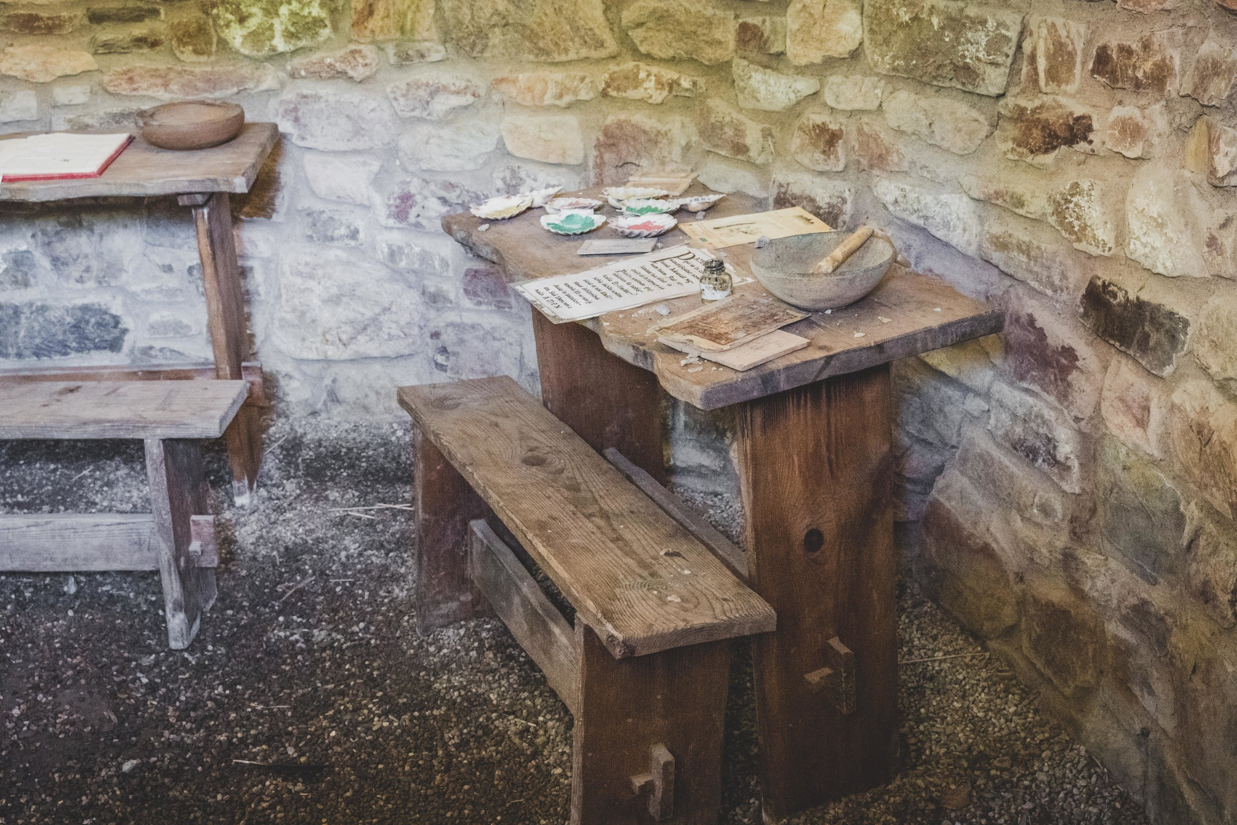 wexford heritage centre ireland monks writing desk.jpg