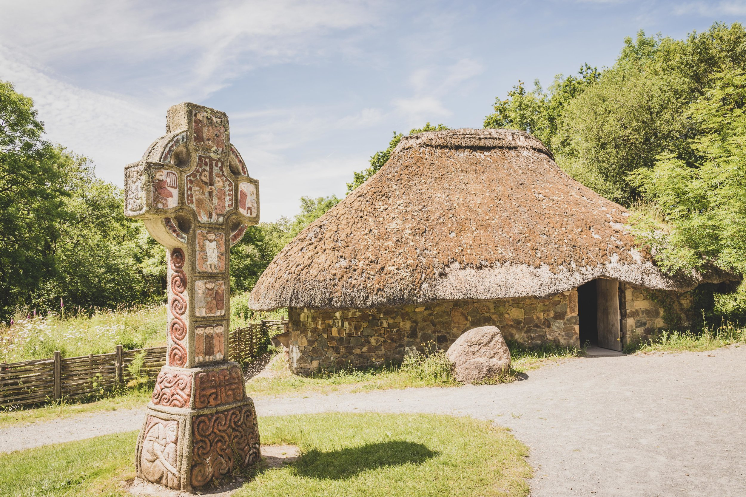 wexford heritage centre ireland town cross and house.jpg