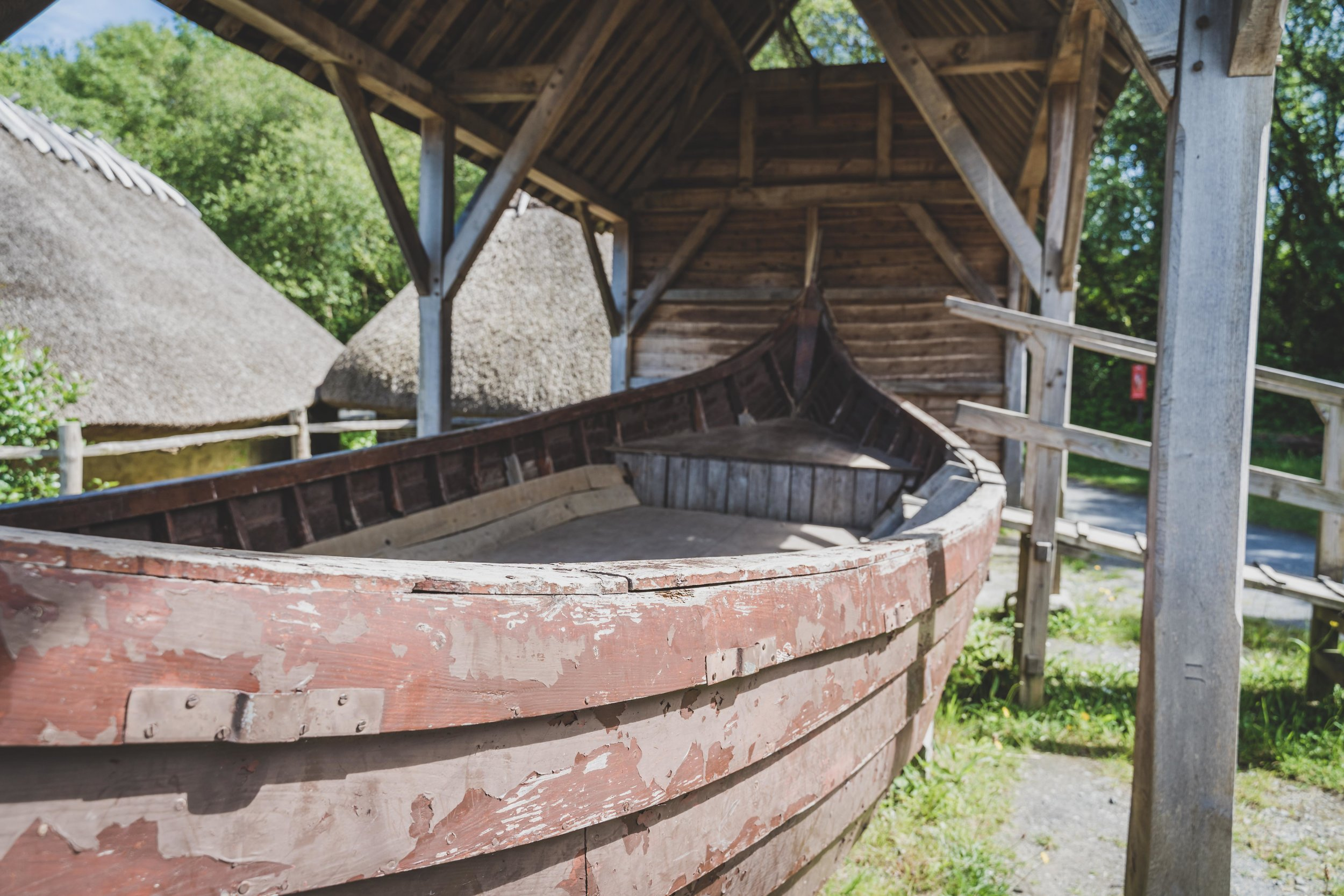 wexford heritage centre ireland viking ship.jpg