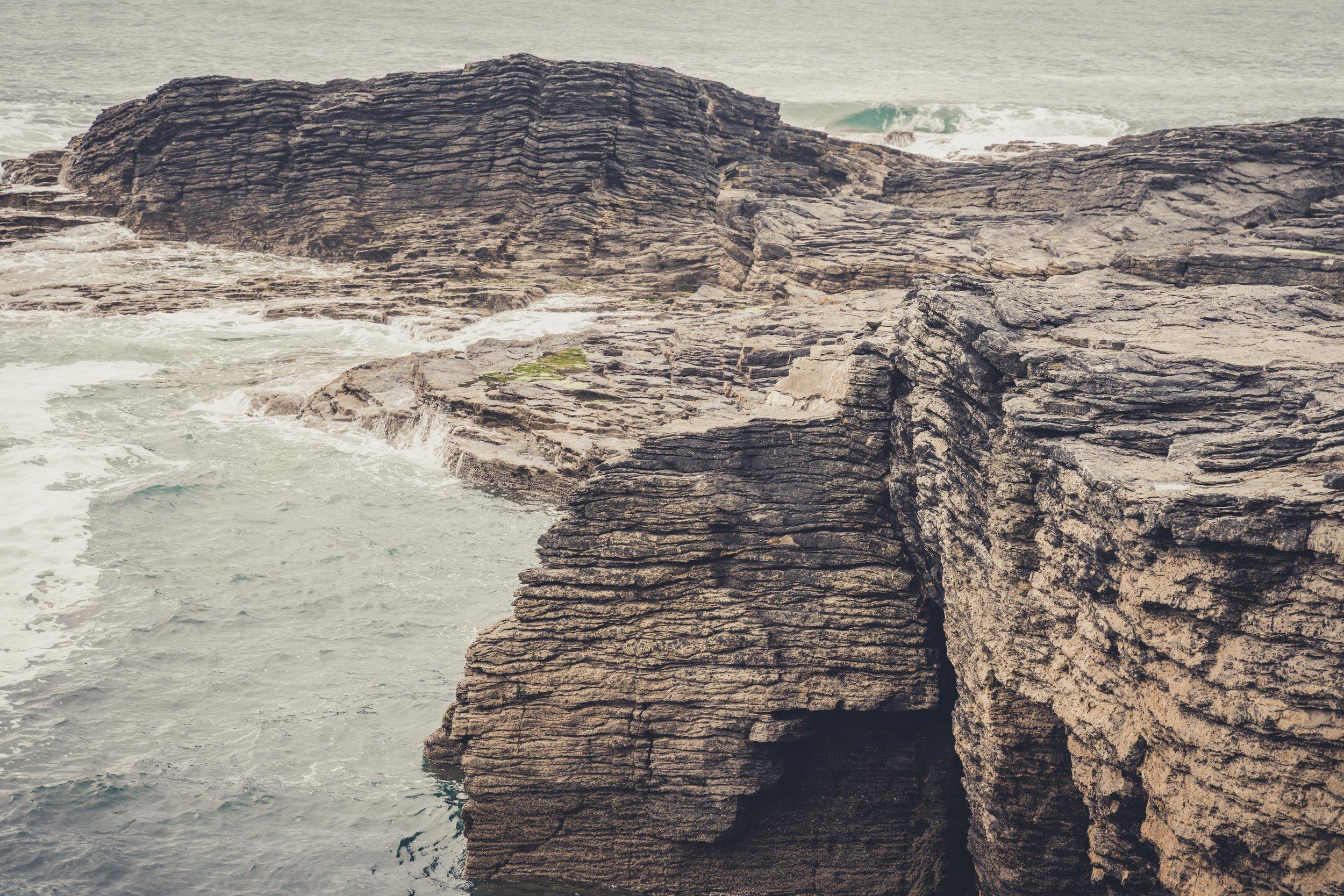 Hookhead Lighthouse wexford ireland celtic sea meets irish sea.jpg