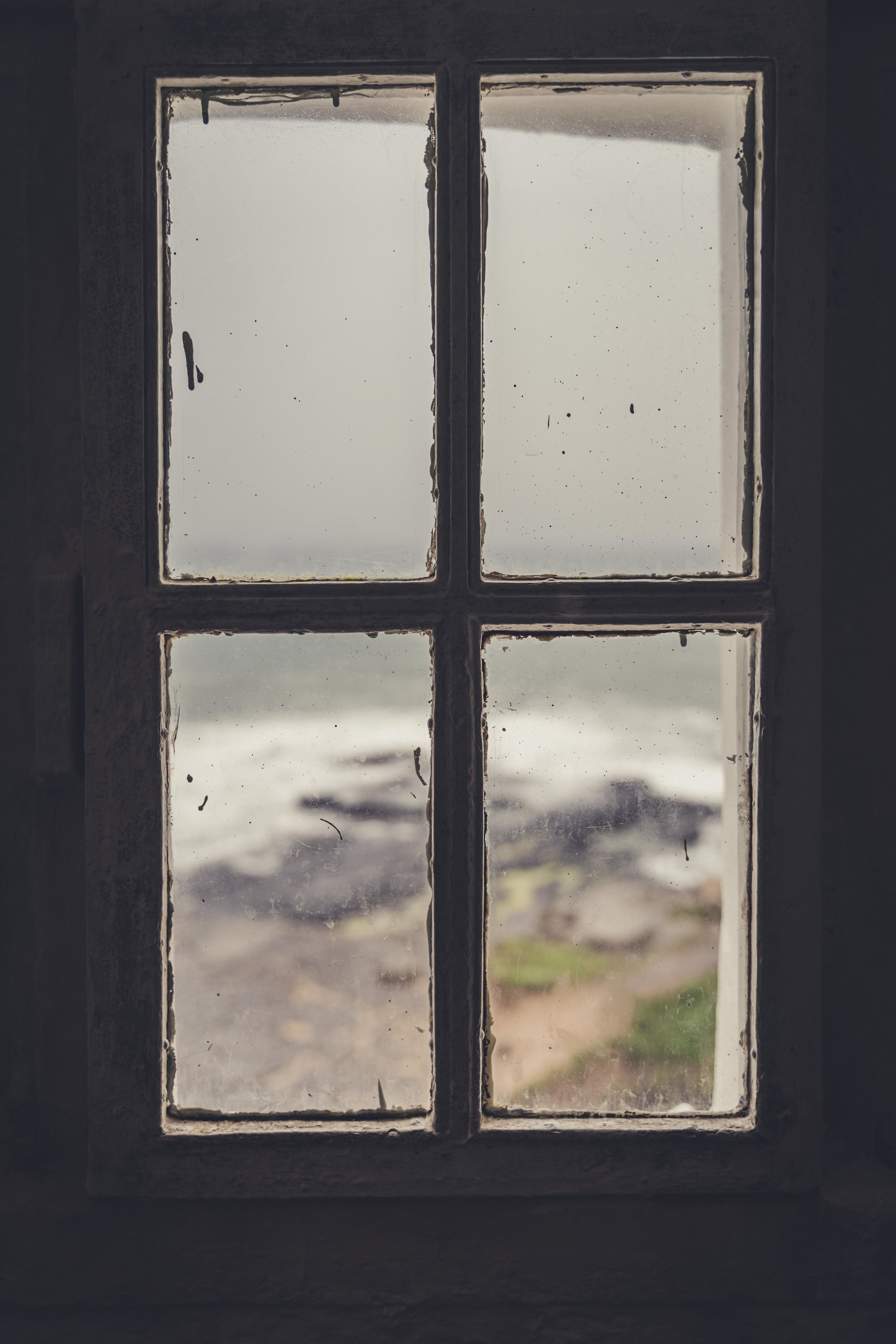 Hookhead Lighthouse wexford ireland view from lighthouse window.jpg