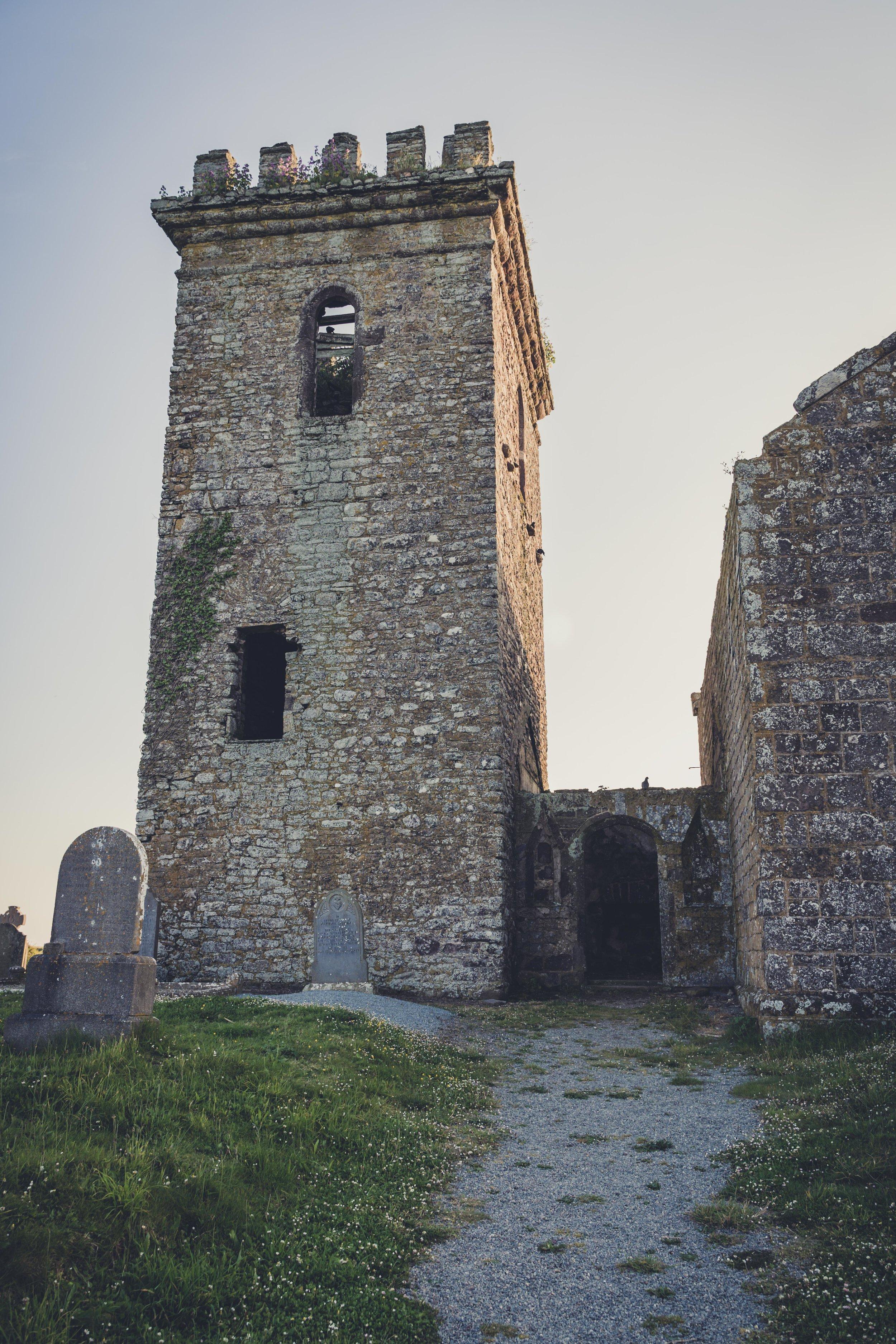 wexford ireland templars town sunset.jpg