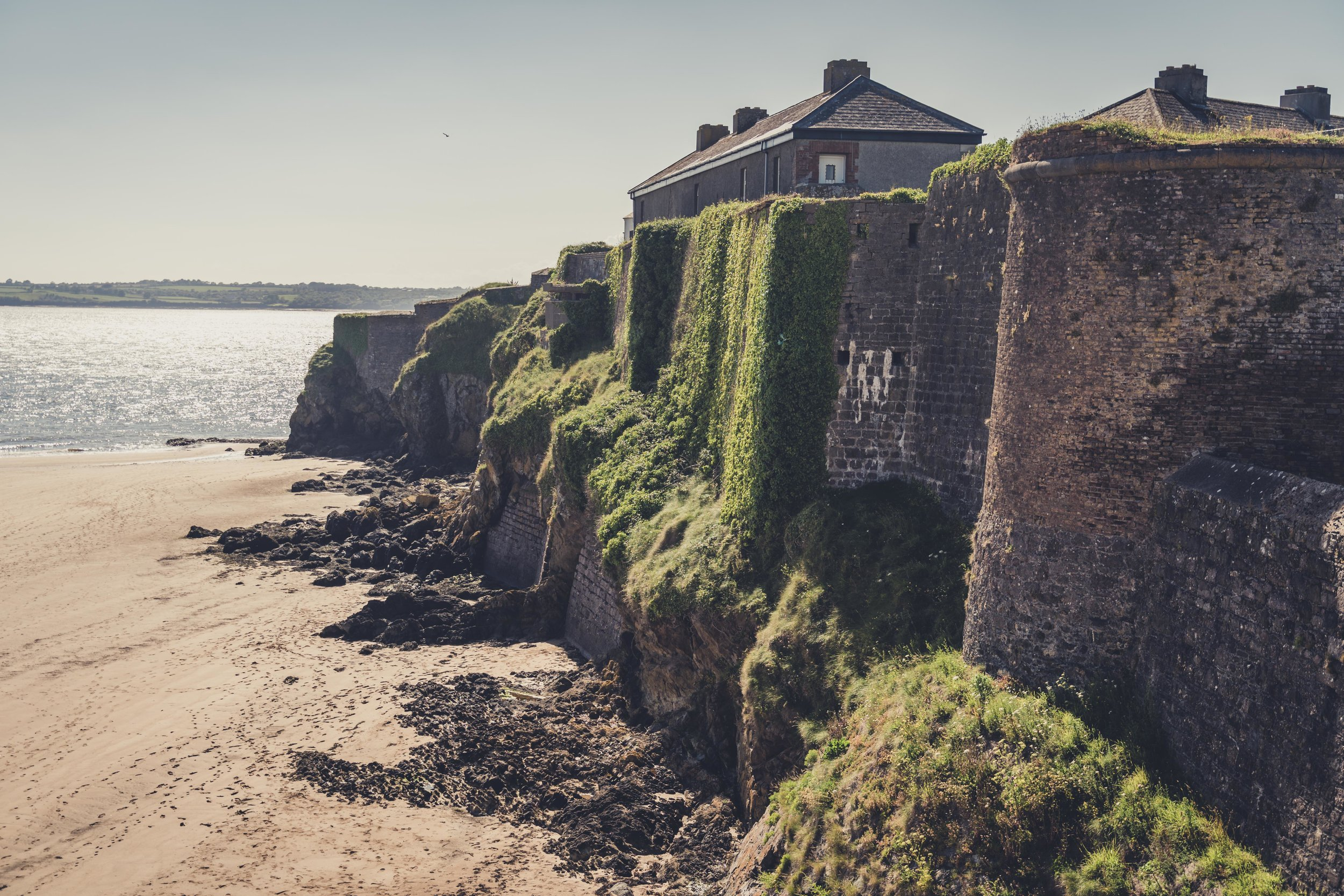 Duncannon Fort. Ireland defensive outer wall,.jpg