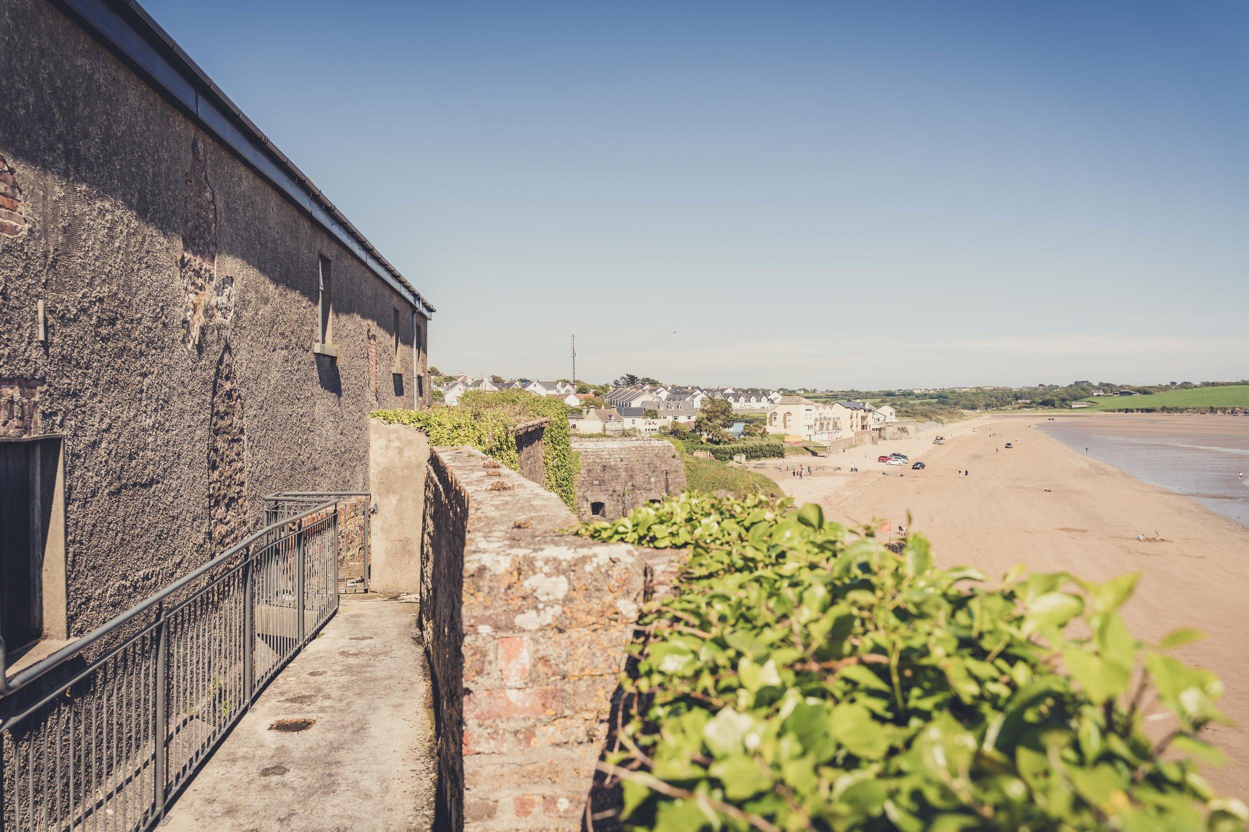 Duncannon Fort. Ireland outer walls defensive.jpg