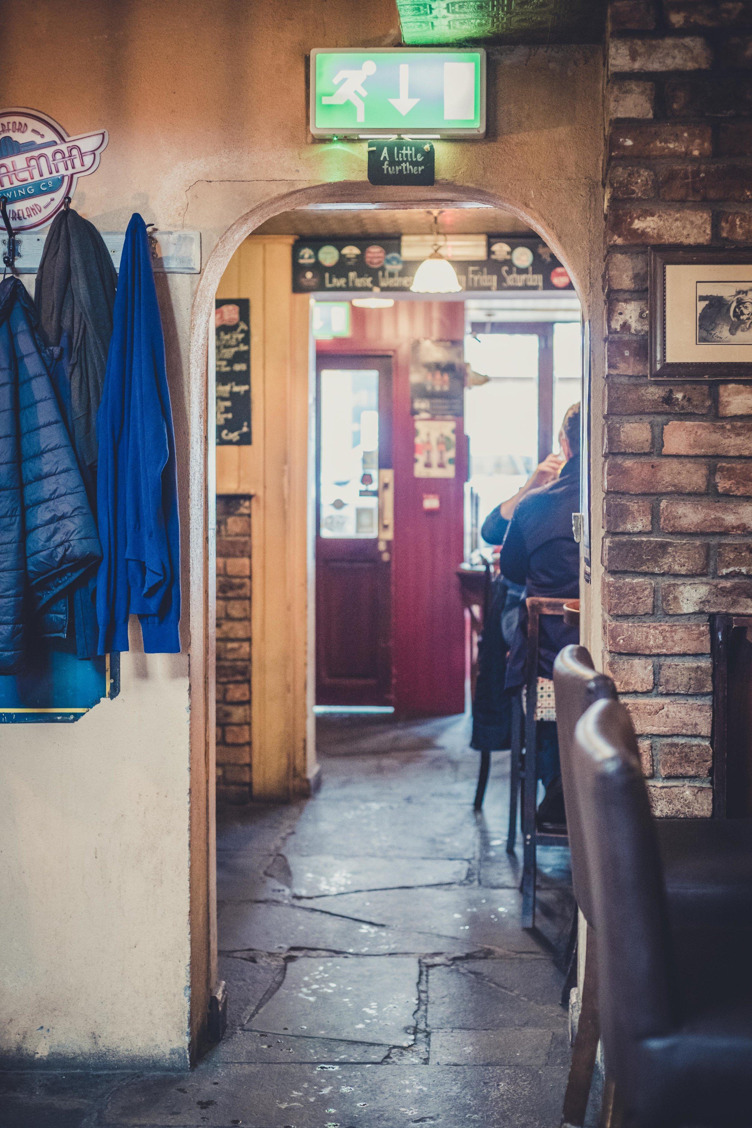 Tullys bar waterford ireland hall.jpg