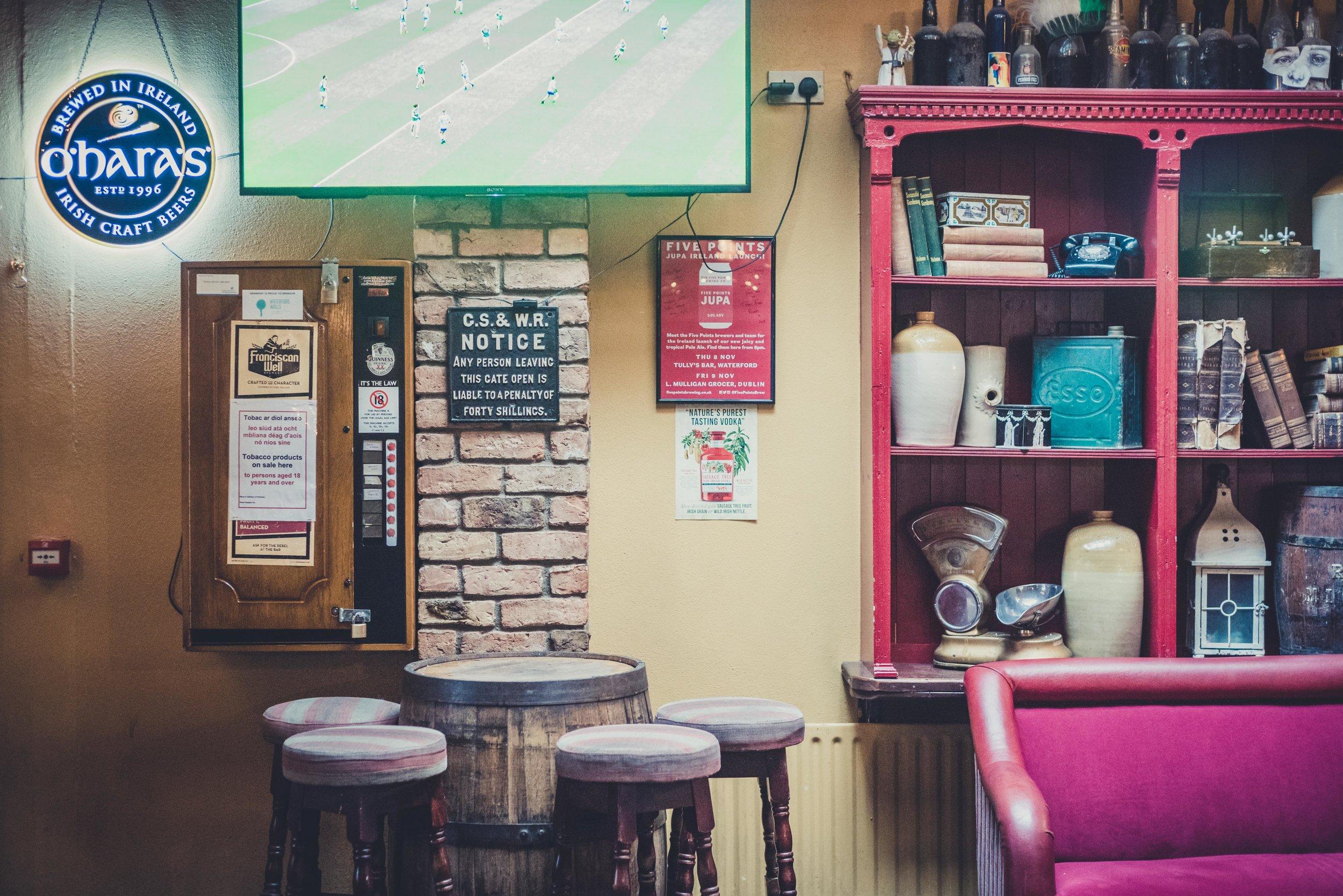 Tullys bar waterford ireland stools.jpg