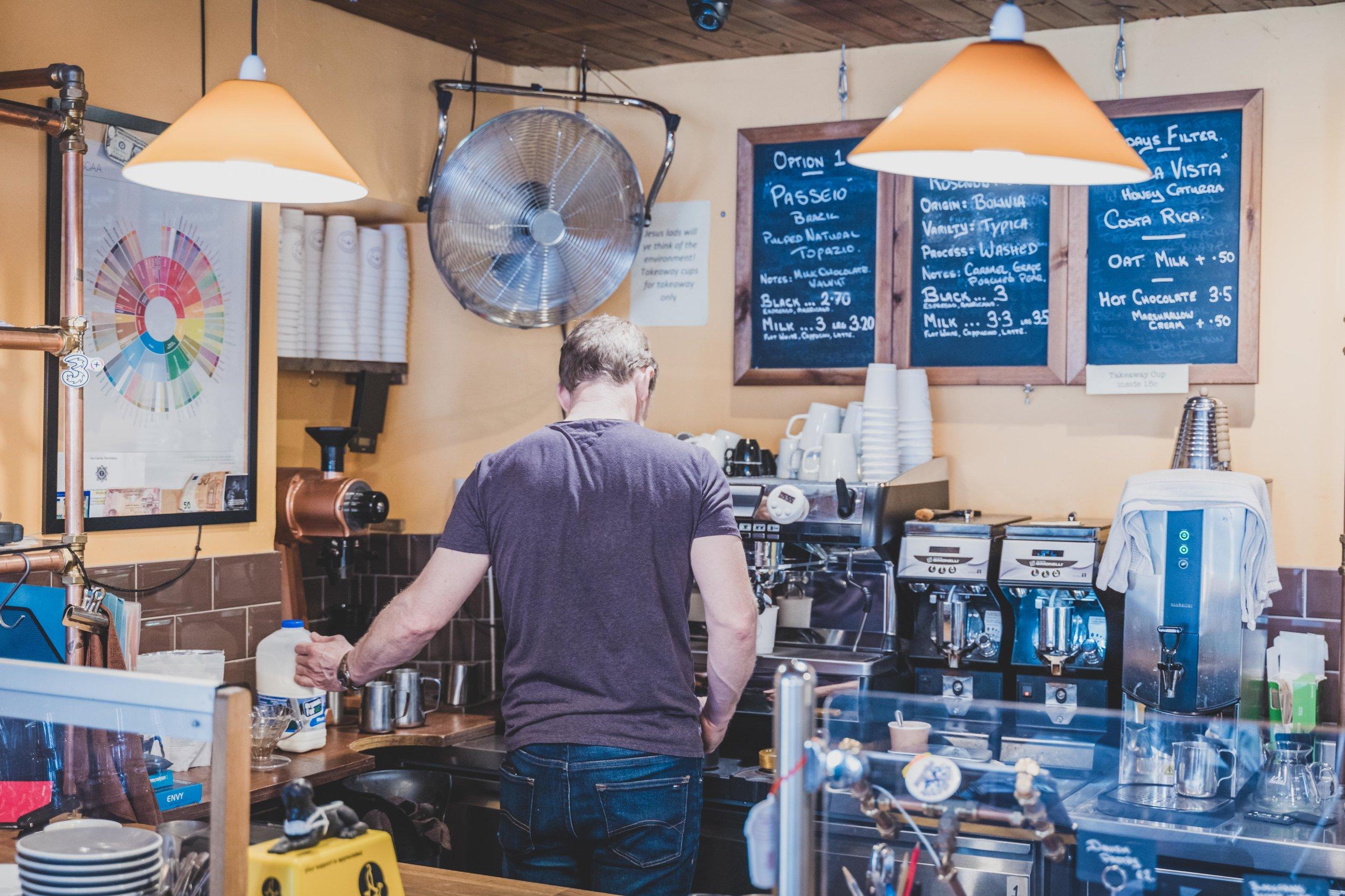 Blackfriars Coffee waterford ireland brewing coffee.jpg
