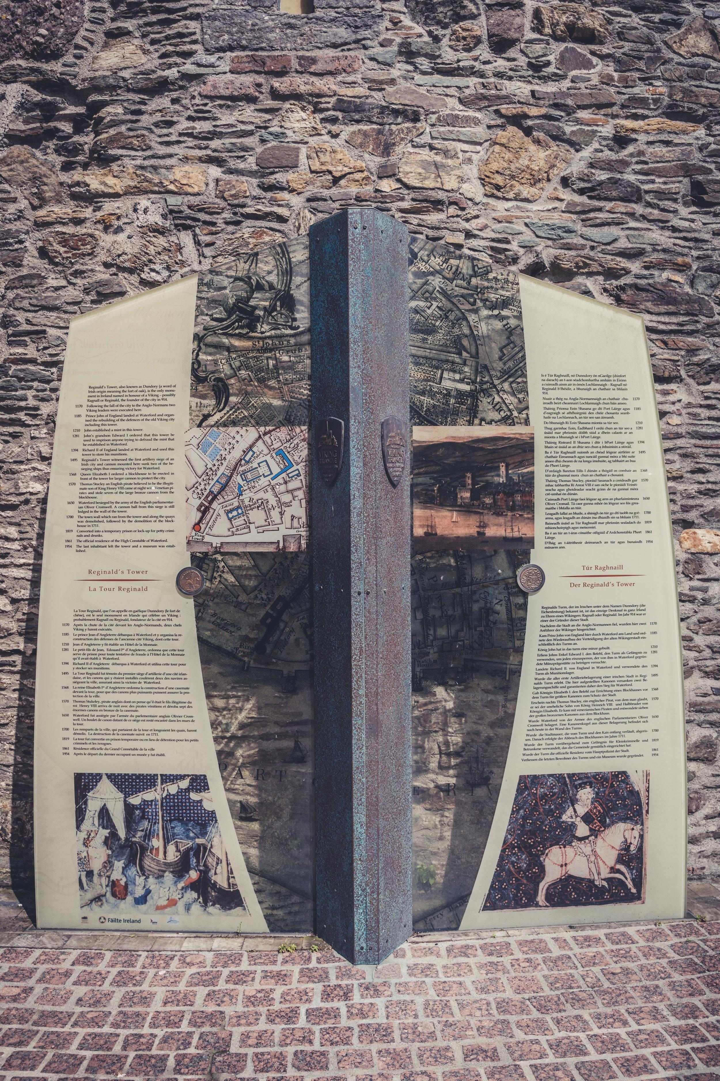 Reginald's Tower waterford ireland info.jpg