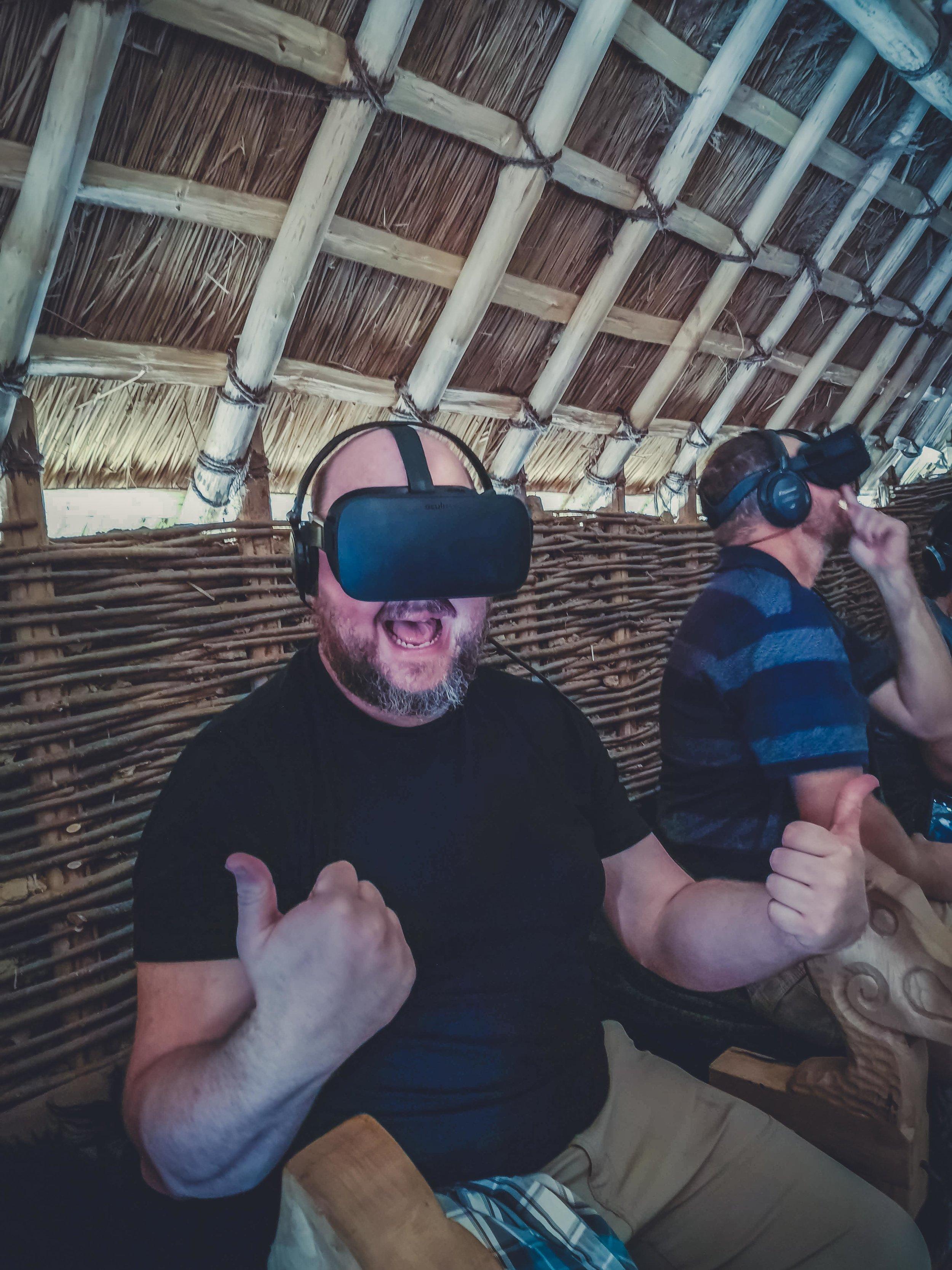 The viking kings waterford ireland VR  headset on.jpg