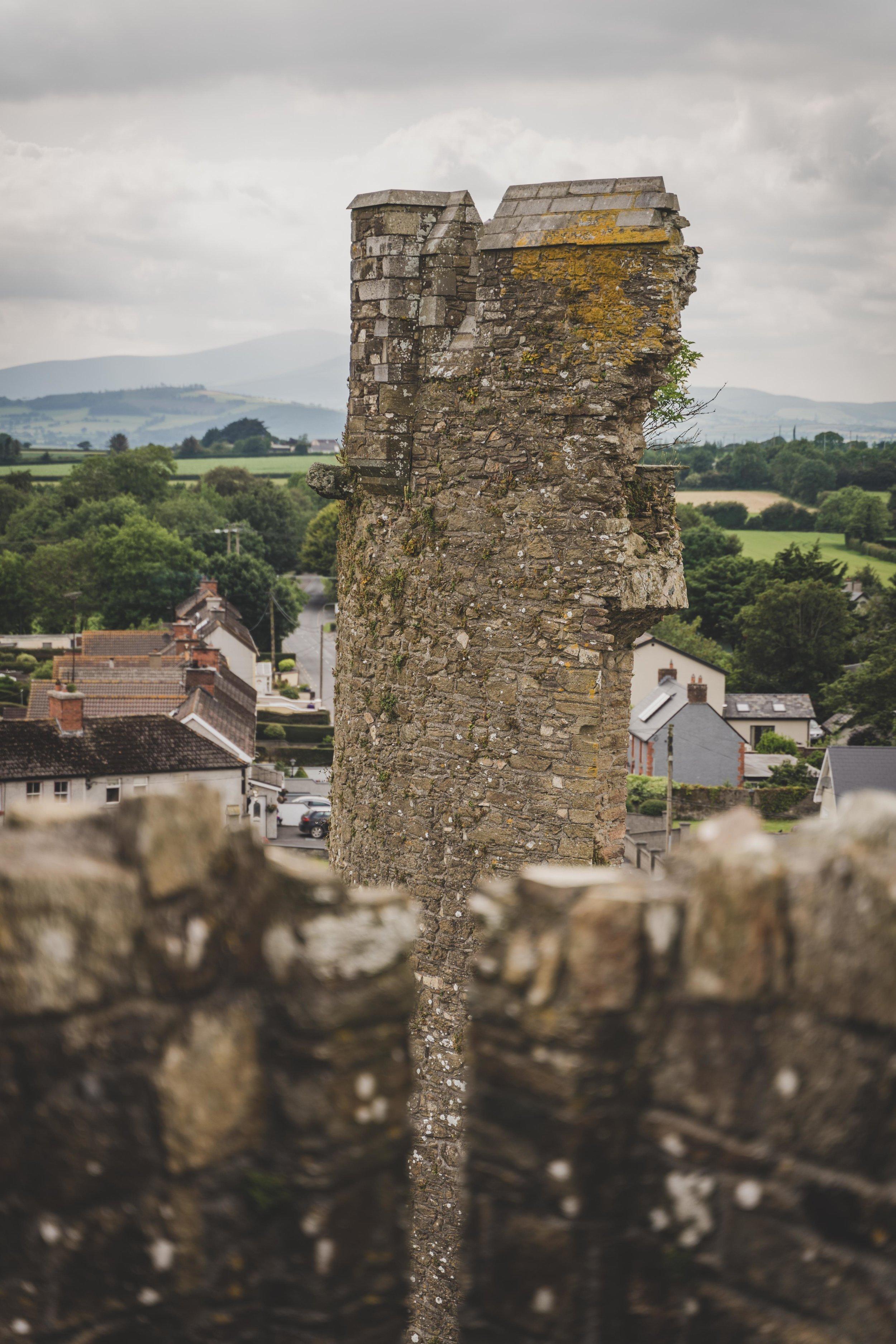 ferns castle ireland view from the battlements.jpg
