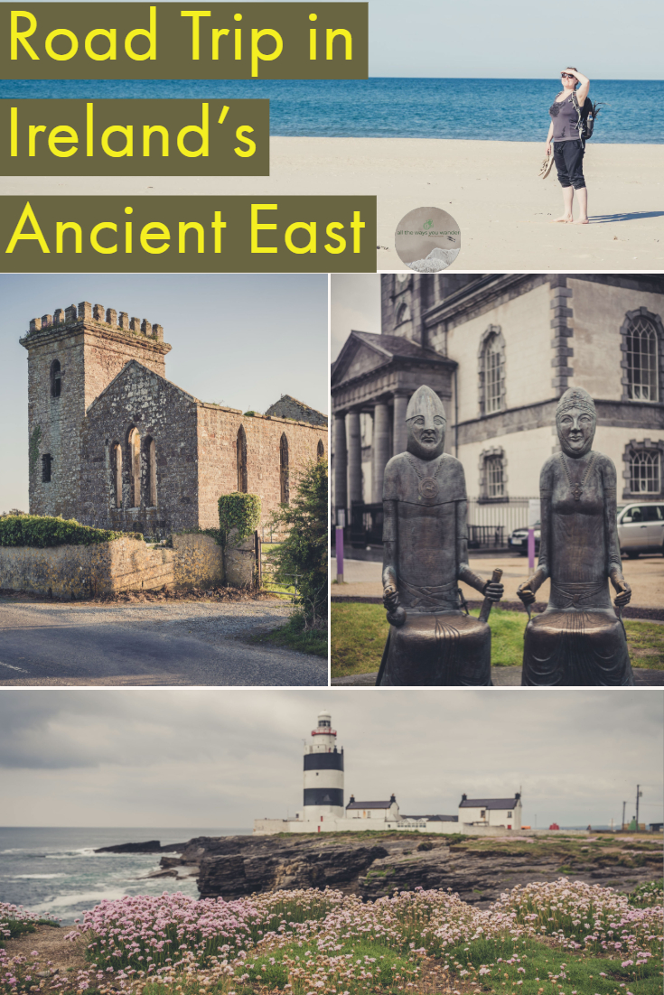 Ireland is perfect for road trips. The drive from Wexford to Waterford is one of the best! Stunning scenery and fascinating history await | all the ways you wander | #castles #vikings