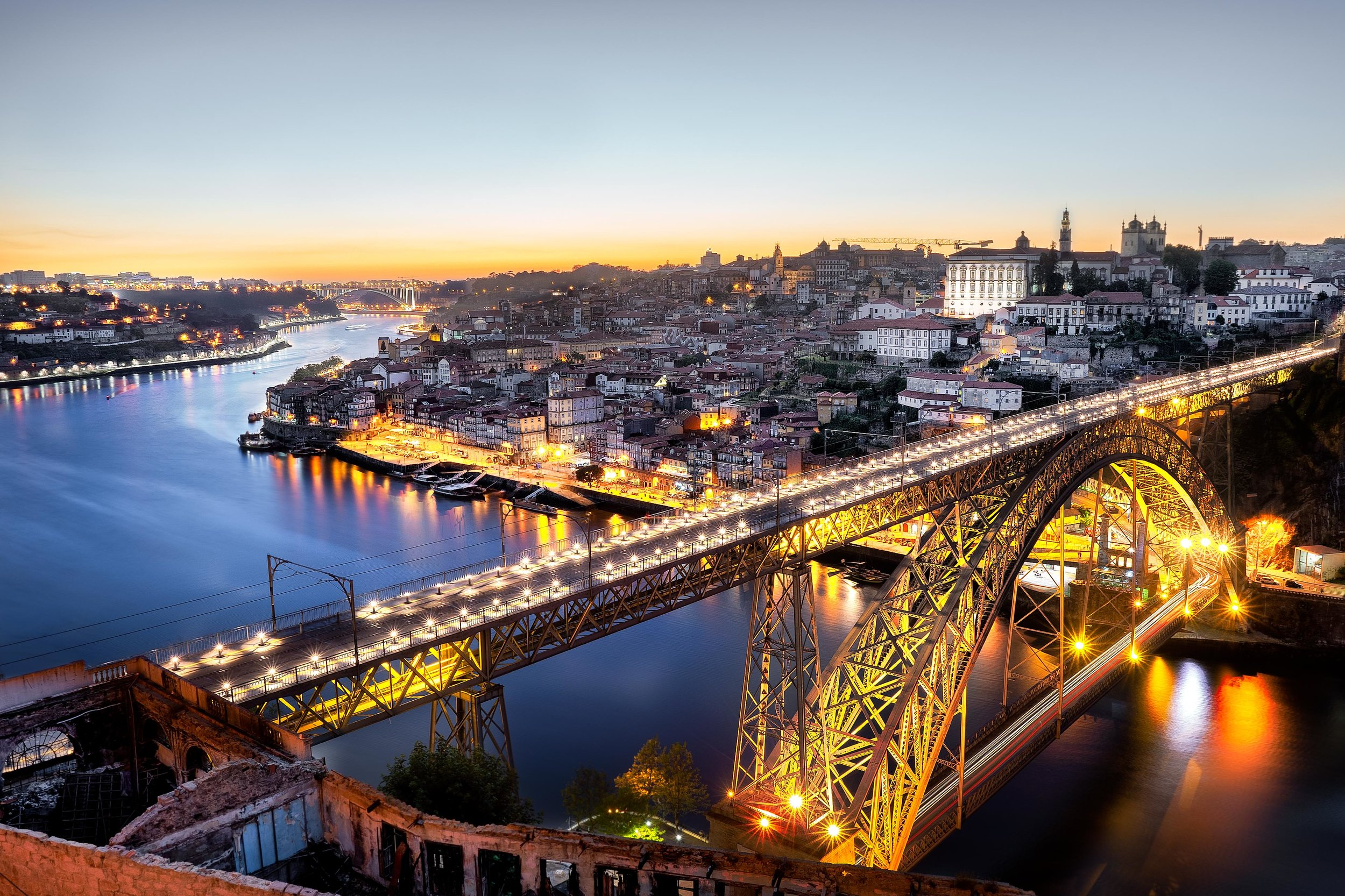 porto Sunset over the bridge.jpg