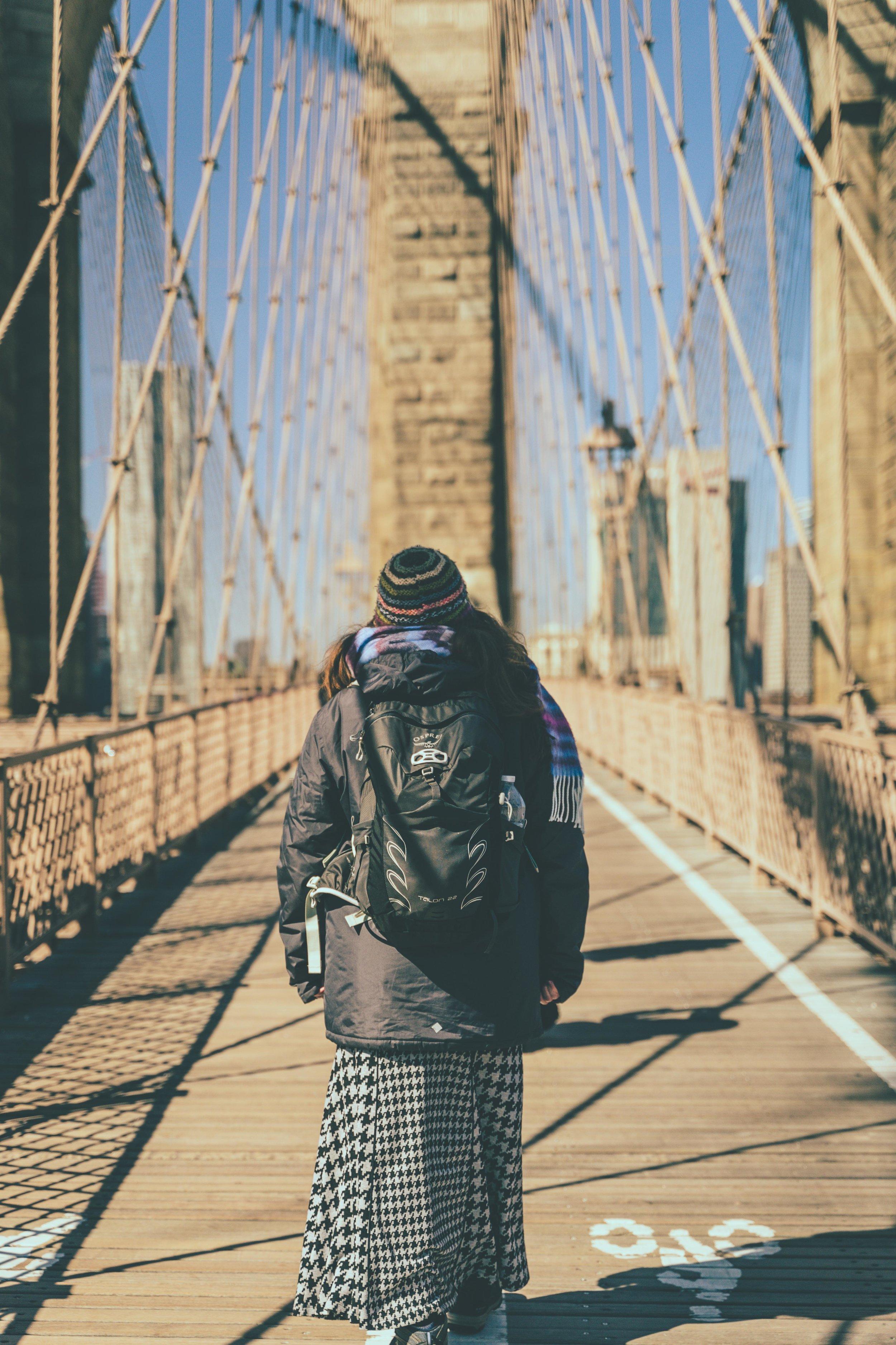 Walking the Brooklyn Bridge orla .jpg