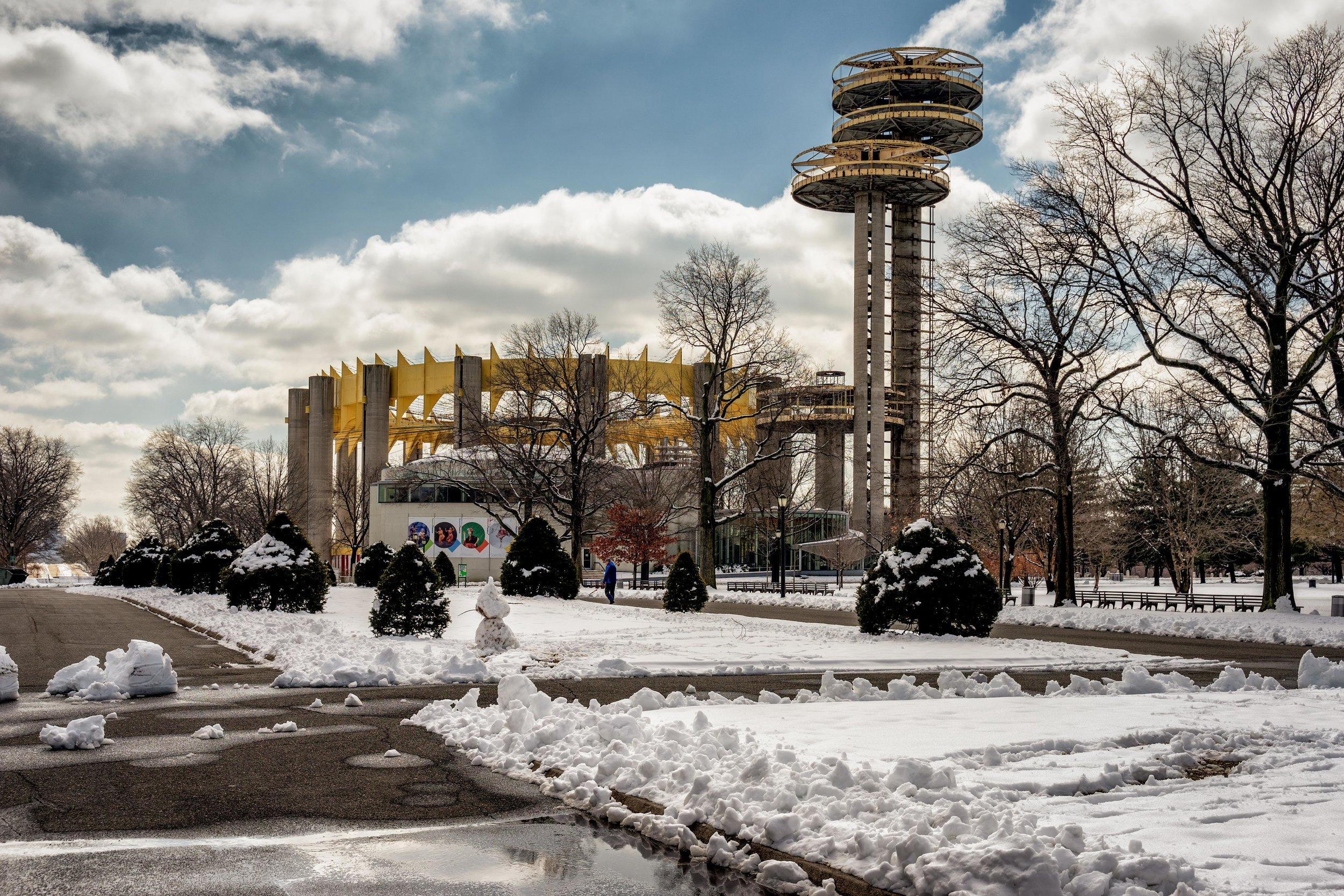 flushing meadows Observation towers