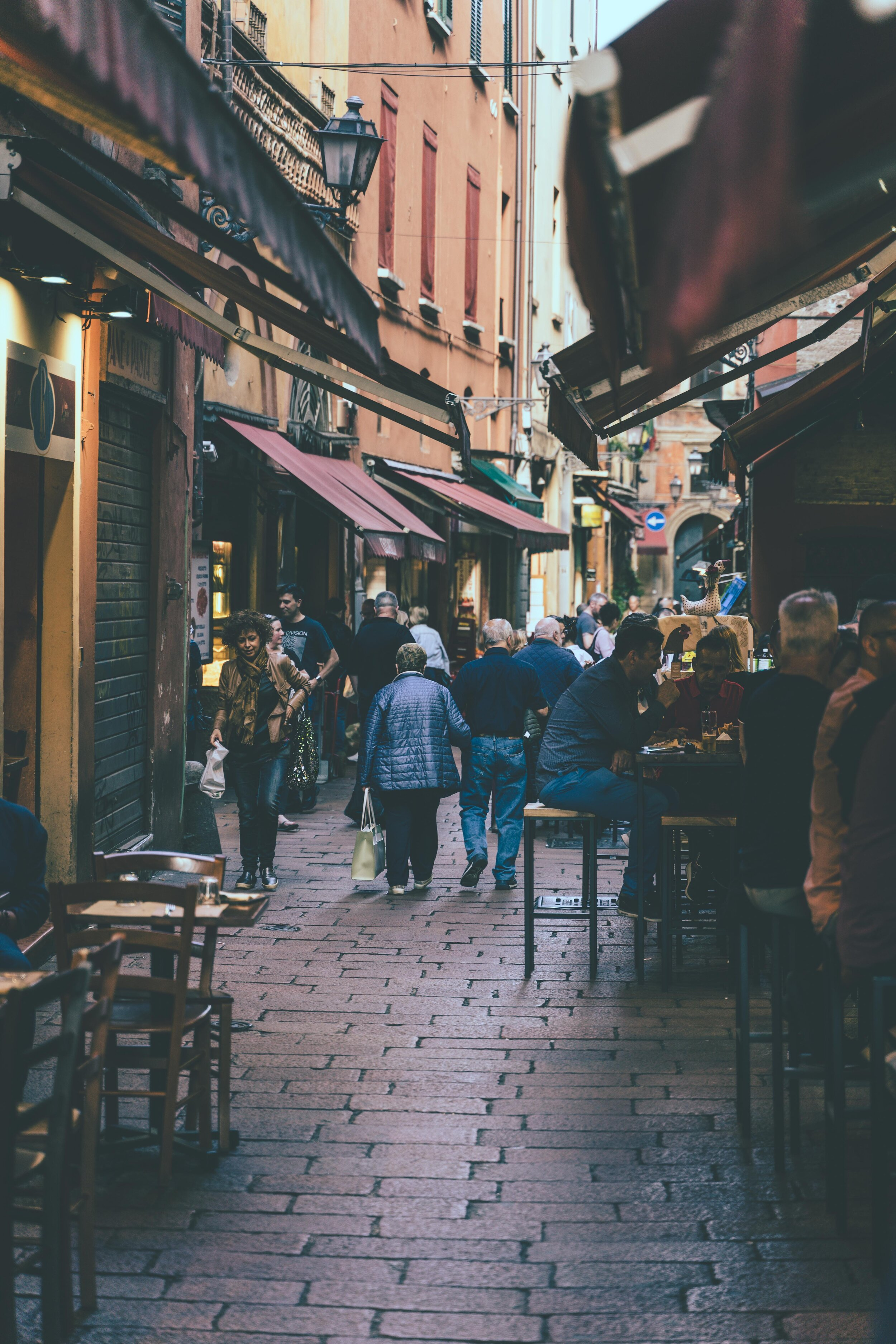 bars and food on little italian street.jpg